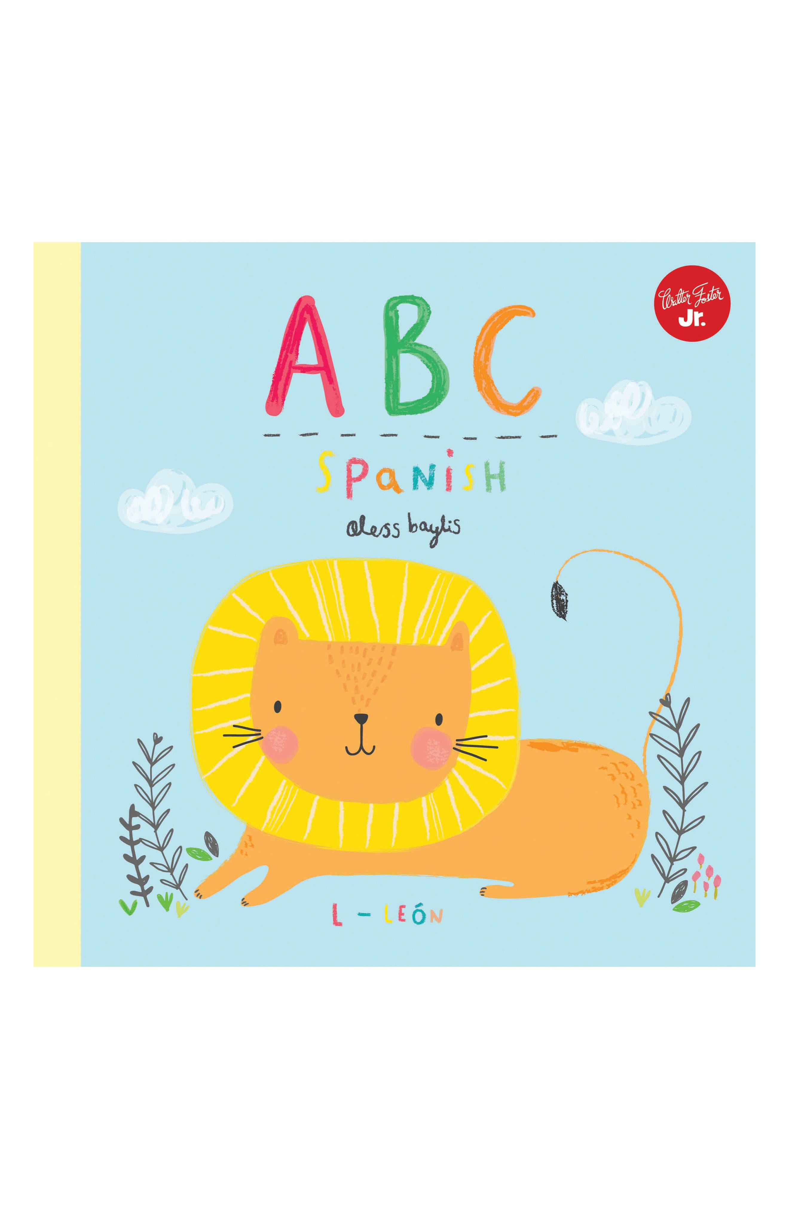 'ABC Spanish' Book,                         Main,                         color, Multi