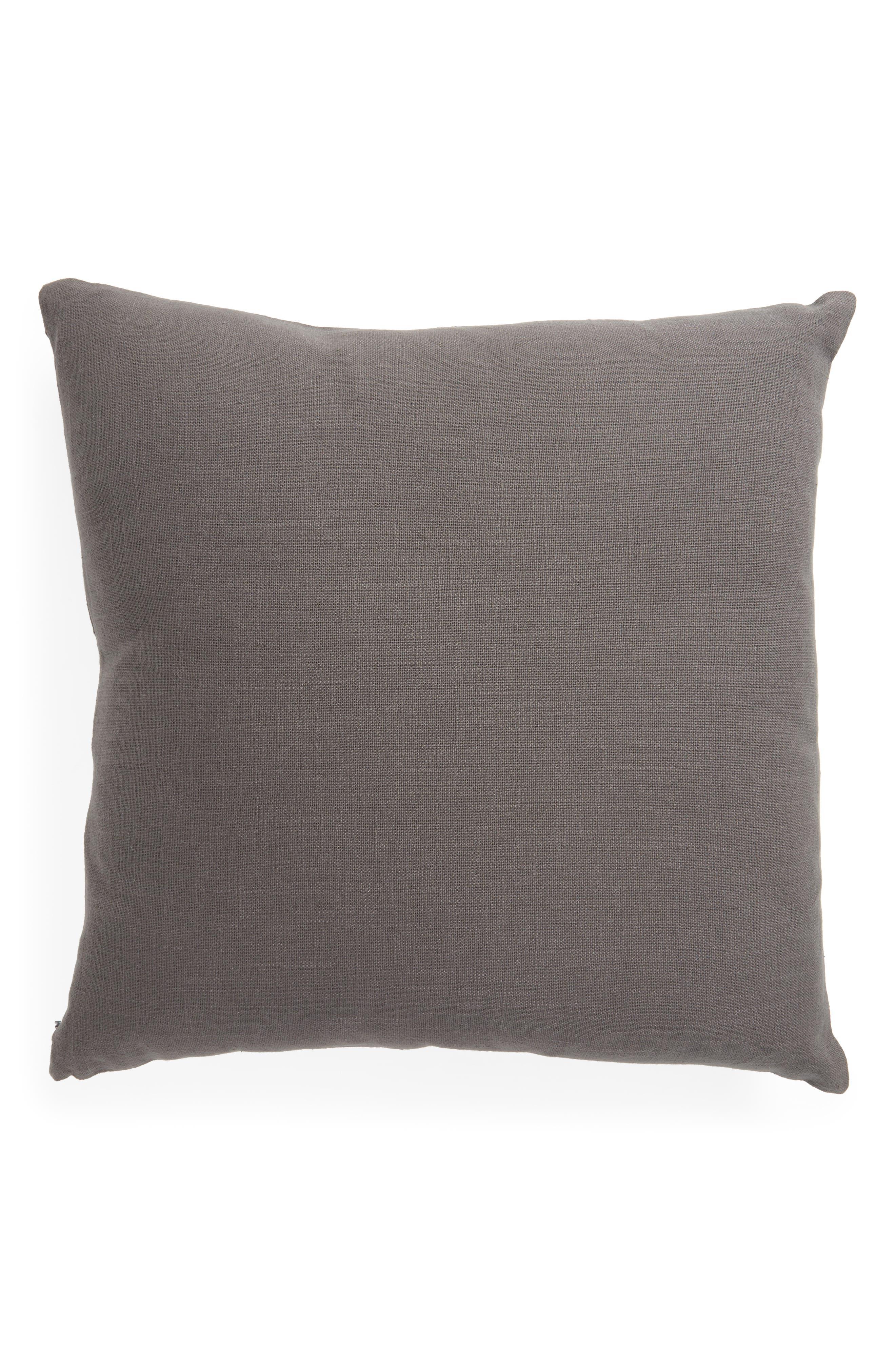 Color Wash Square Pillow,                             Alternate thumbnail 3, color,                             Grey  Castlerock