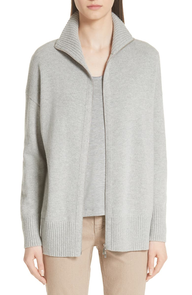 Luxe Merino Wool  Cashmere Sweater Jacket