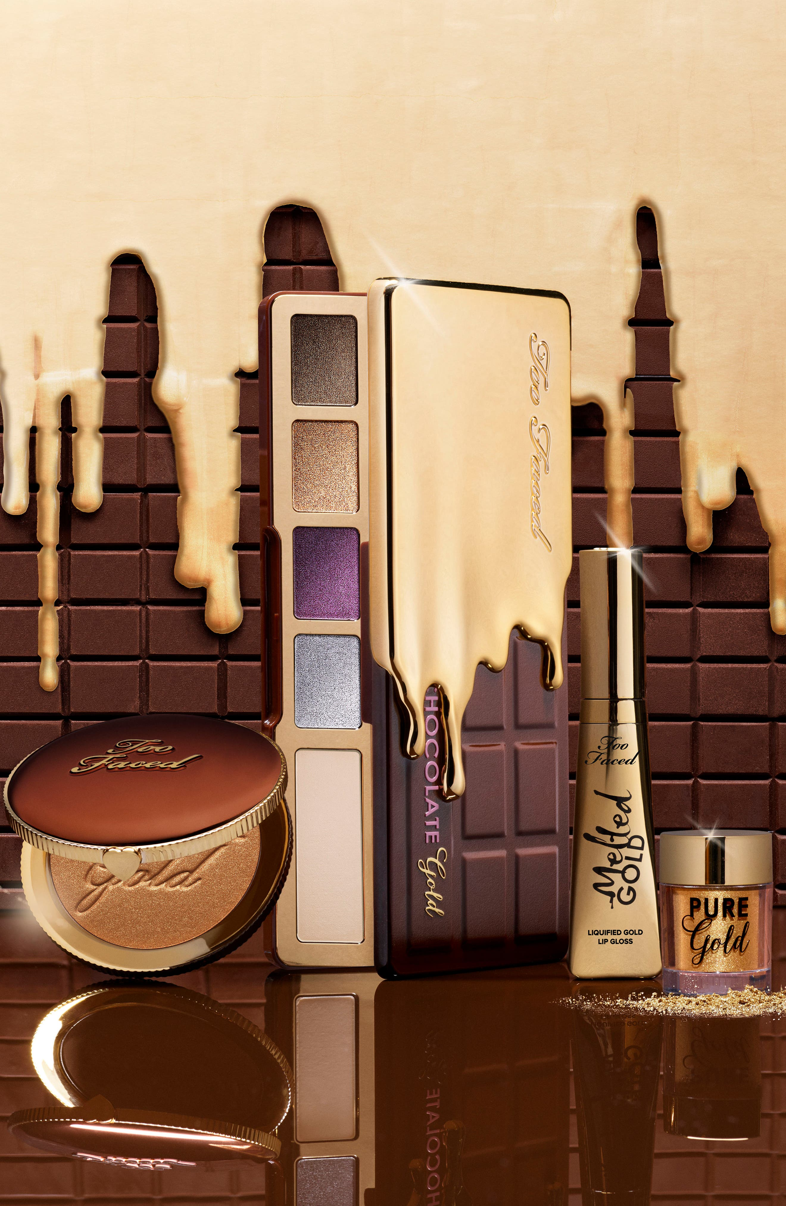 Alternate Image 10  - Too Faced Melted Gold Liquified Gold Lip Gloss