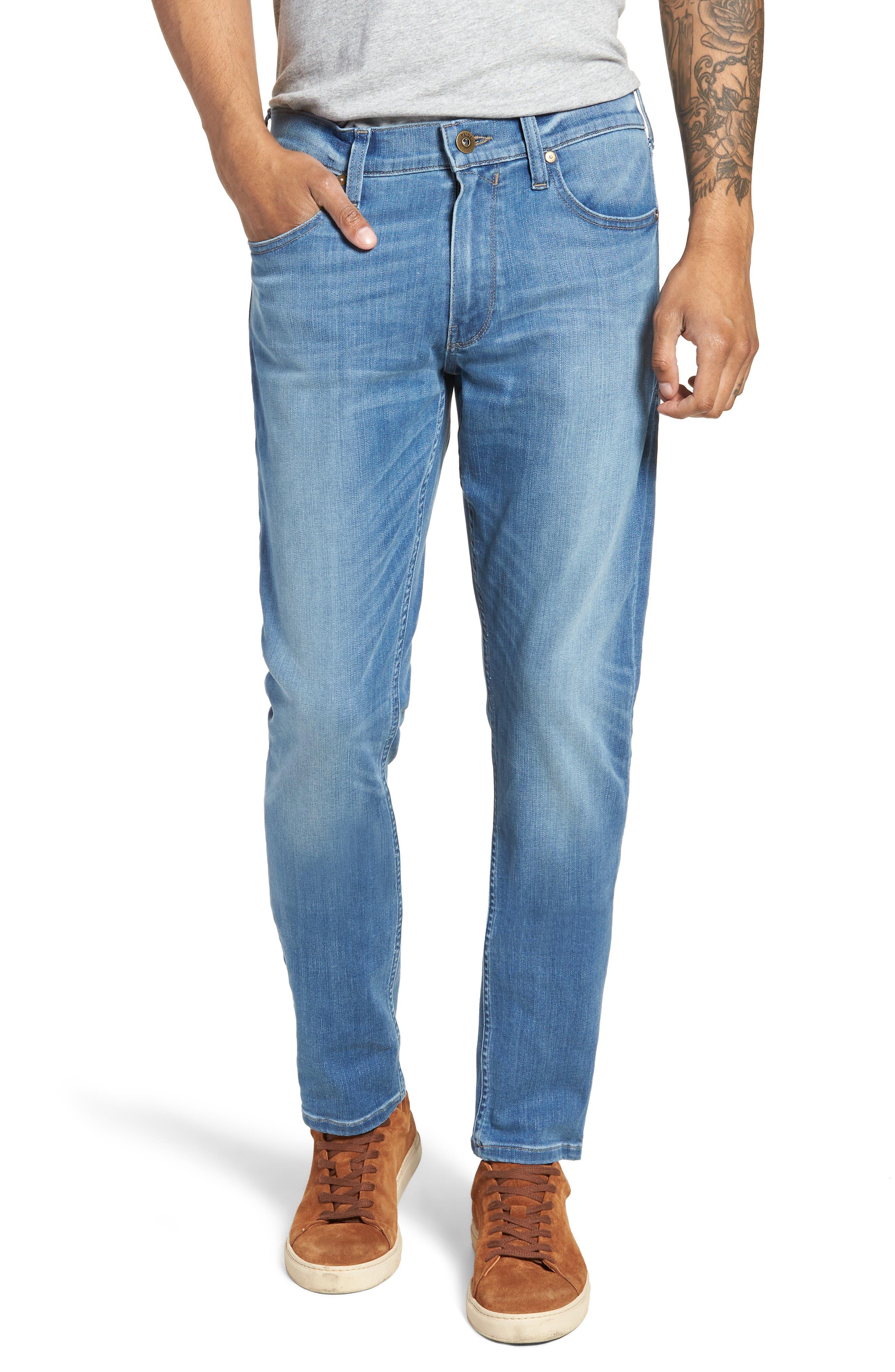 Transcend - Federal Slim Straight Leg Jeans,                             Main thumbnail 1, color,                             Hammonds