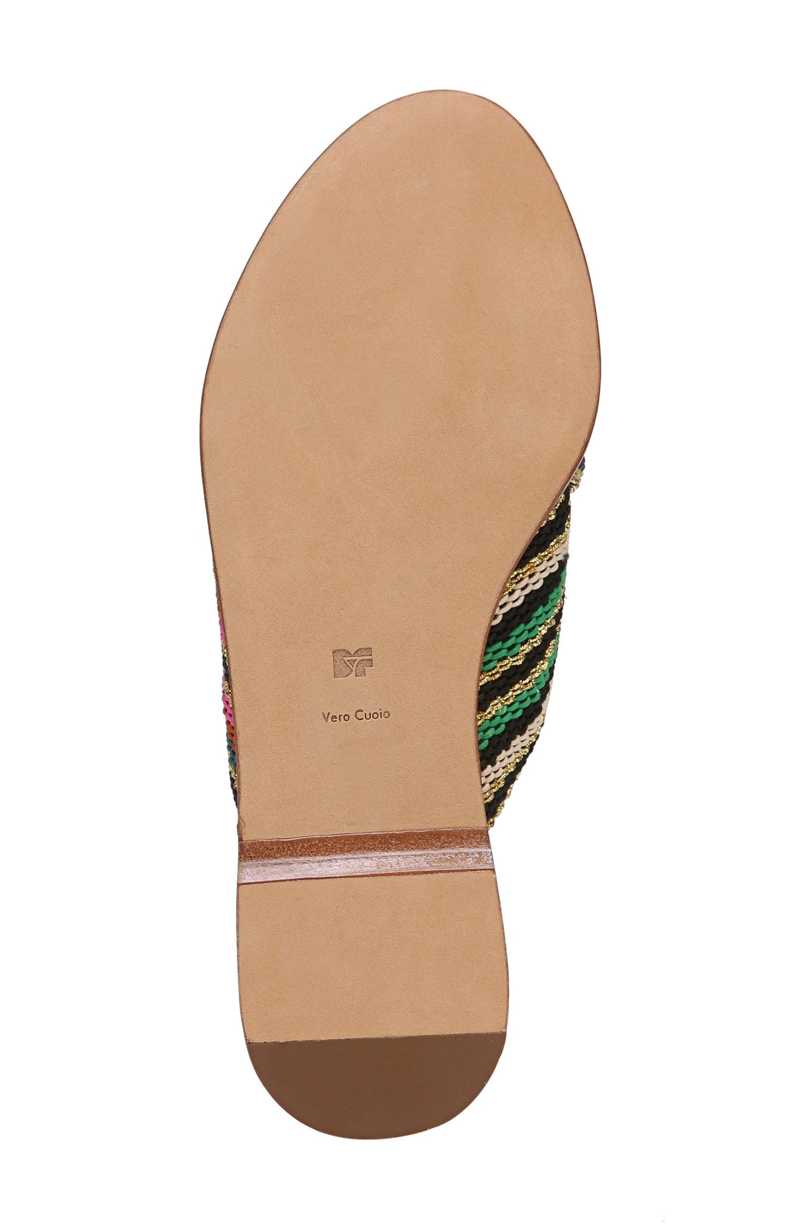 Cindi Woven Slide Sandal,                             Alternate thumbnail 5, color,                             Black/ Gold