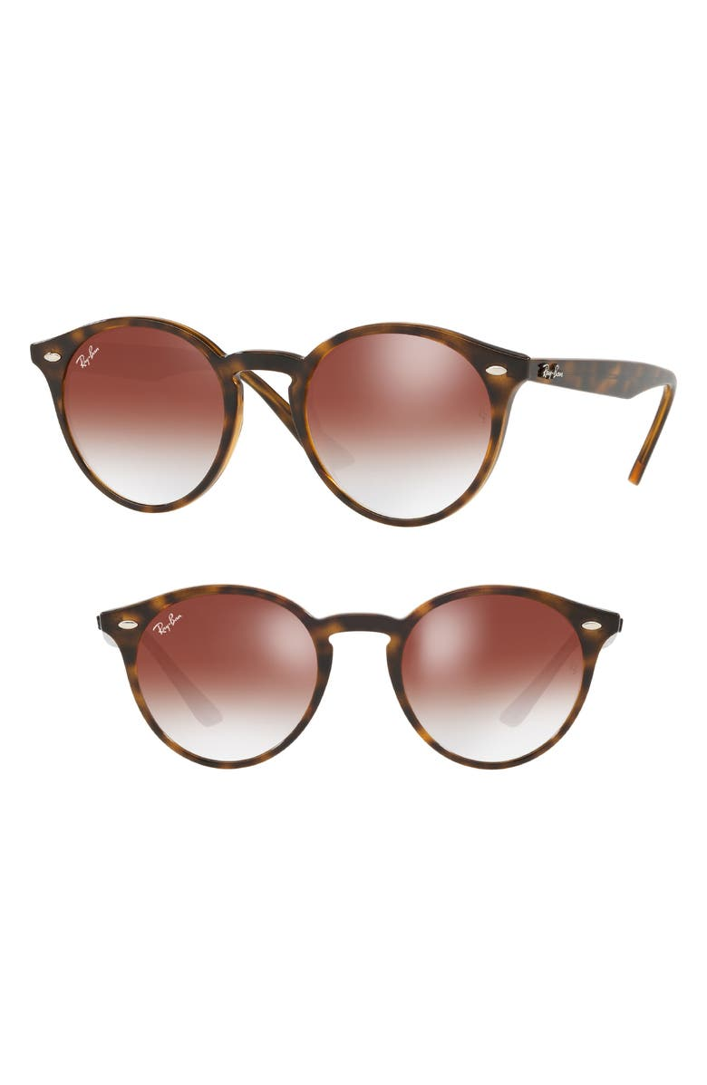 35f011975c4 Ray Ban Highstreet 49Mm Round Sunglasses - Red Gradient Mirror ...