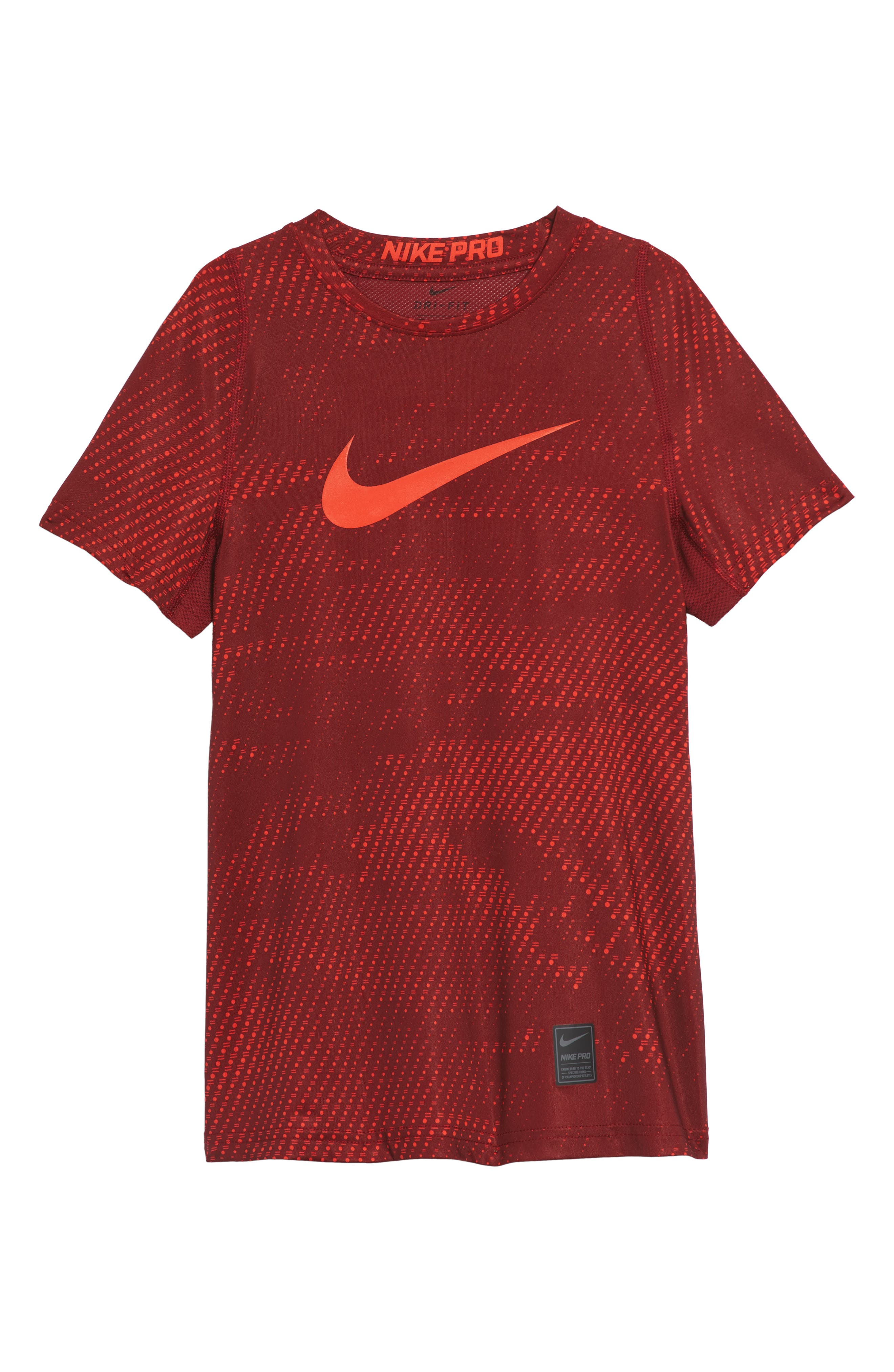 Pro Graphic Shirt,                         Main,                         color, Team Red