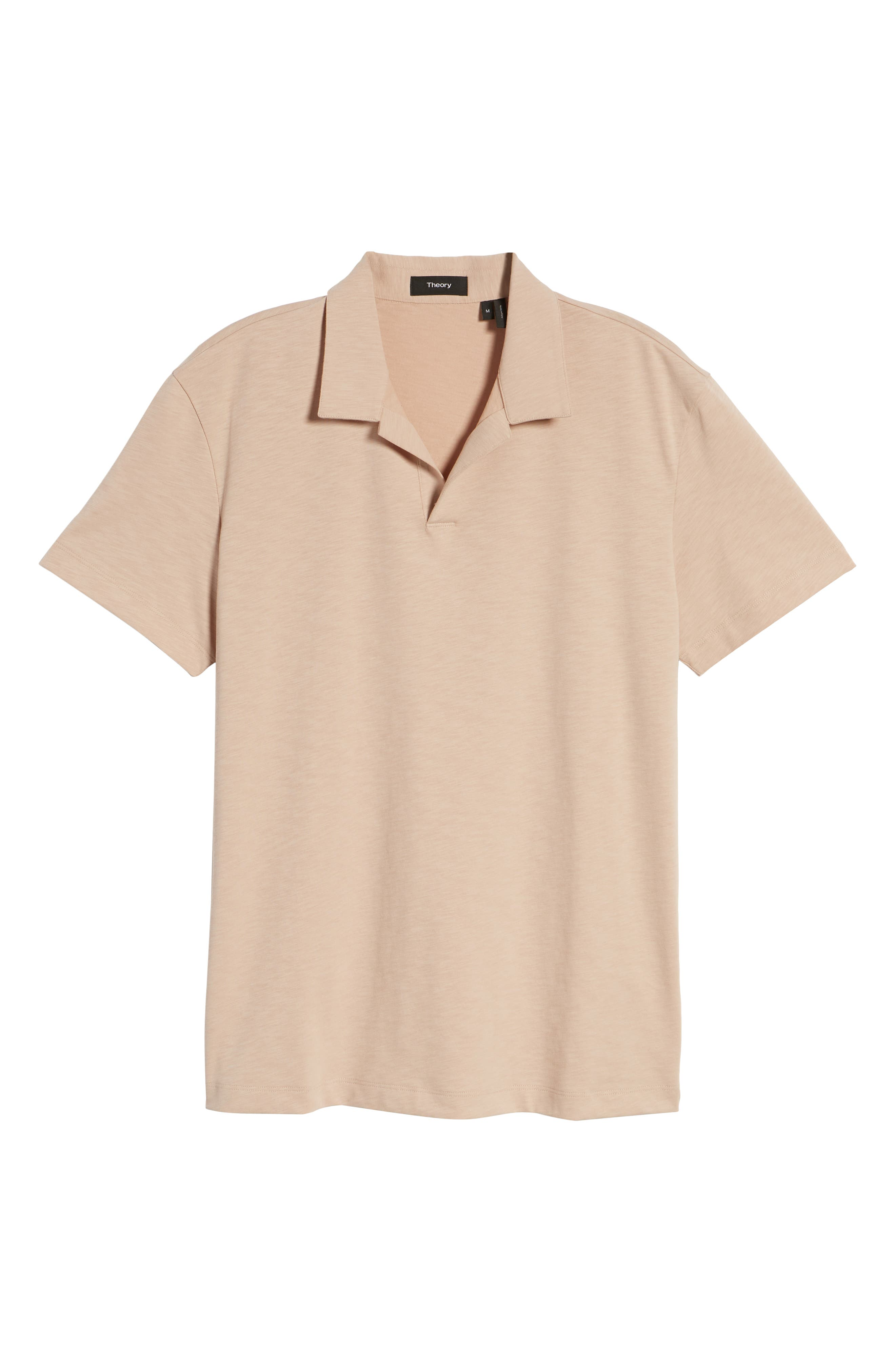 Willem Strato Regular Fit Polo,                             Alternate thumbnail 6, color,                             Petal