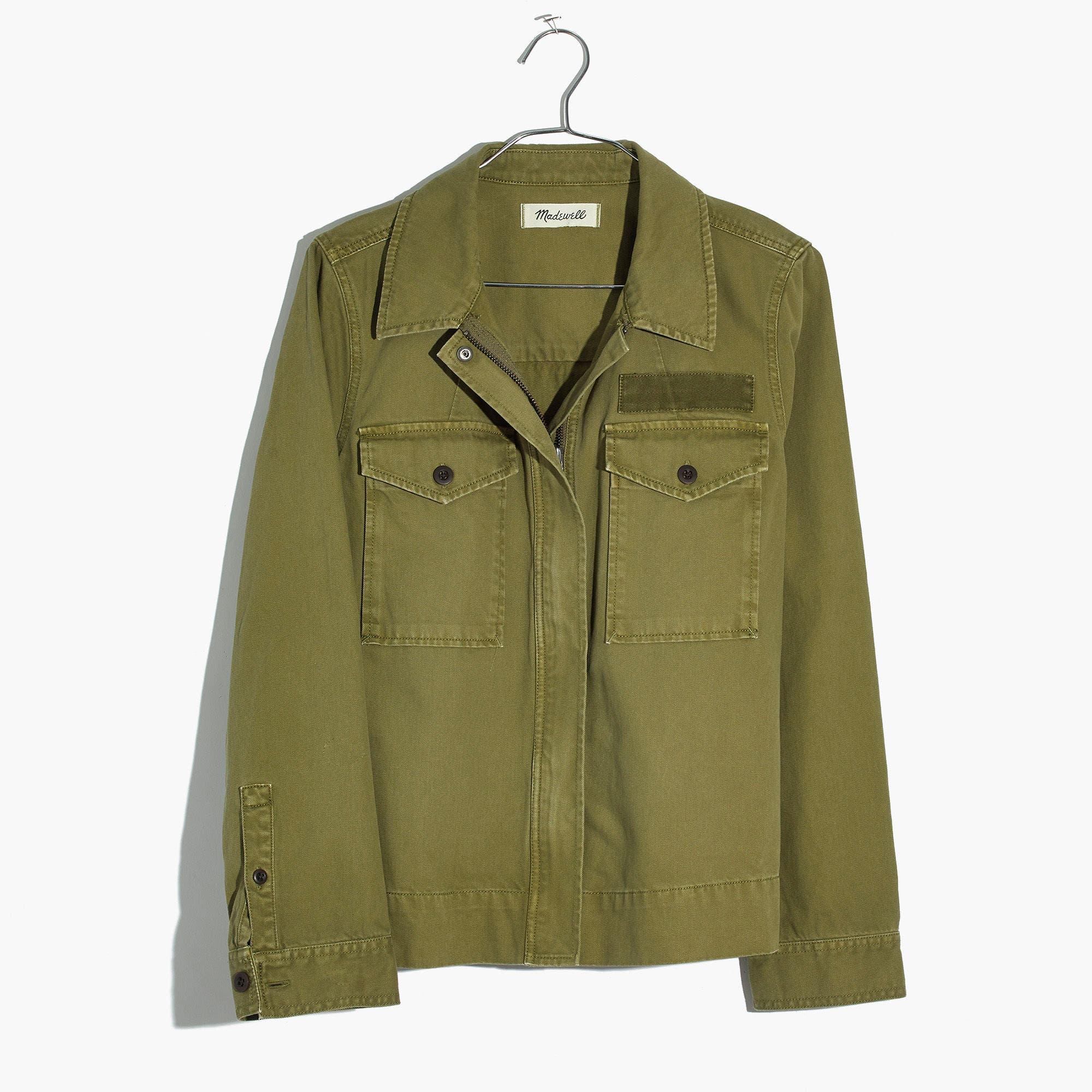 Army Swing Jacket,                             Main thumbnail 1, color,                             Tundra