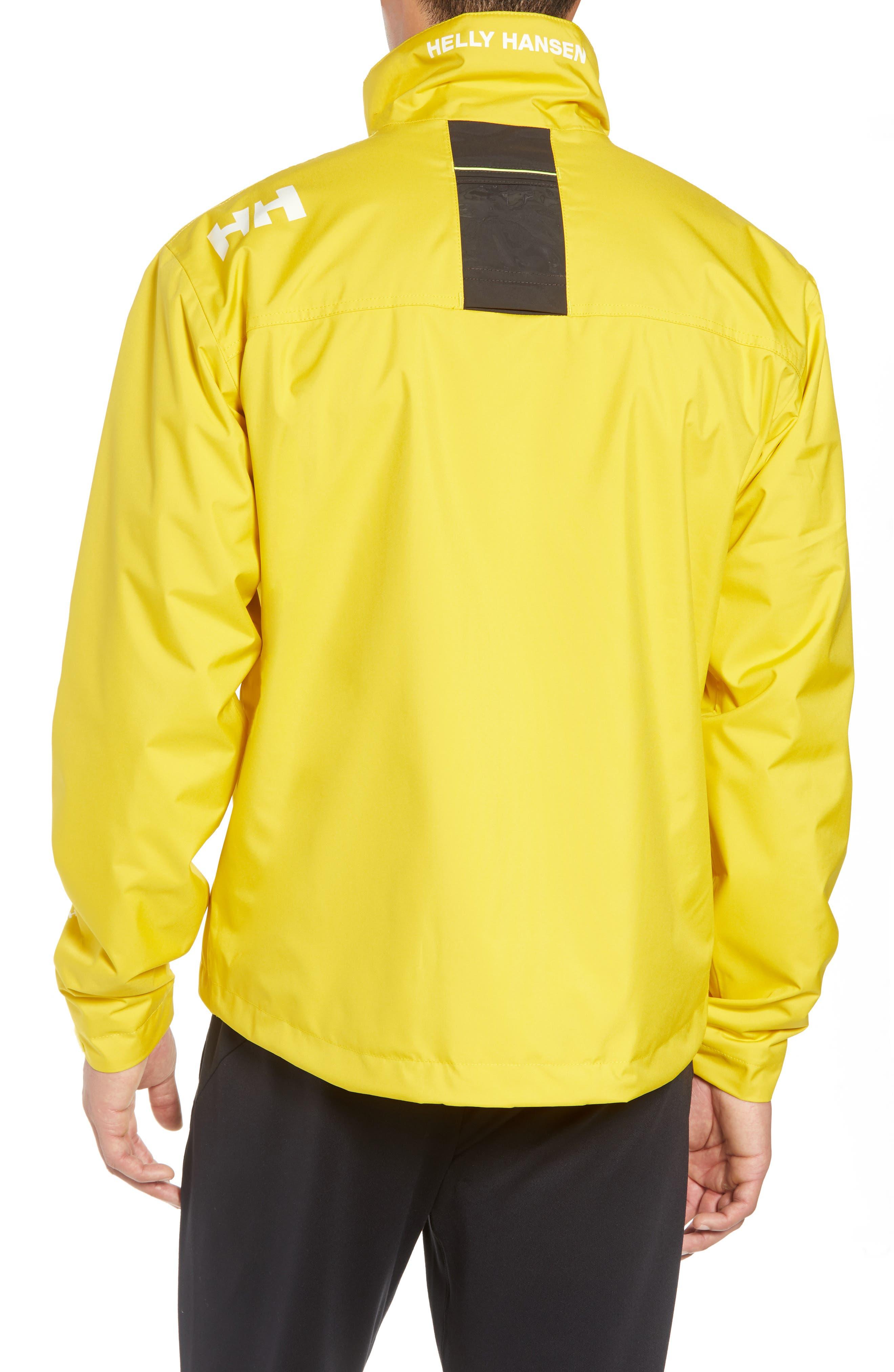 'Crew' Waterproof & Windproof Jacket,                             Alternate thumbnail 2, color,                             Sulphur