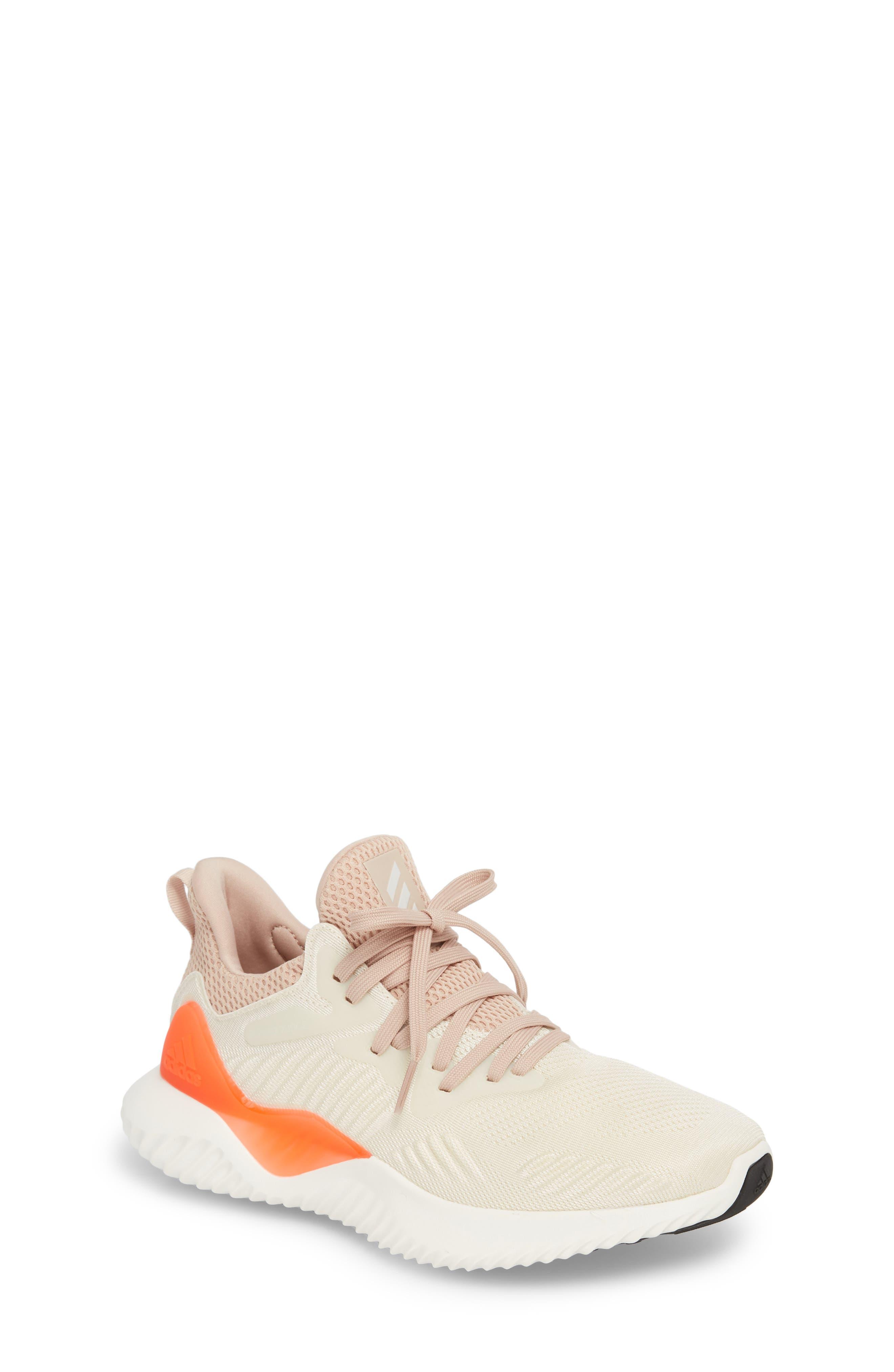 AlphaBounce Beyond Running Shoe,                         Main,                         color, Linen/ Chalk/ Ash Pearl