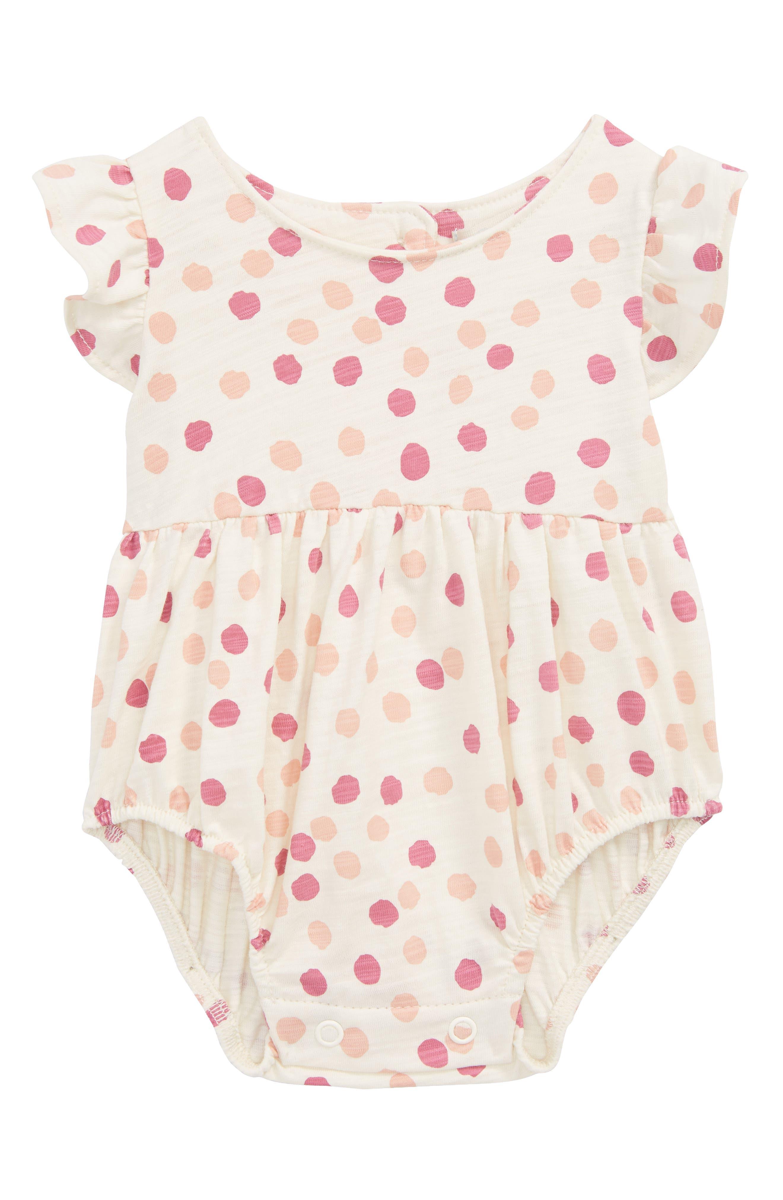 Peek Penny Skirted Bodysuit (Baby Girls)