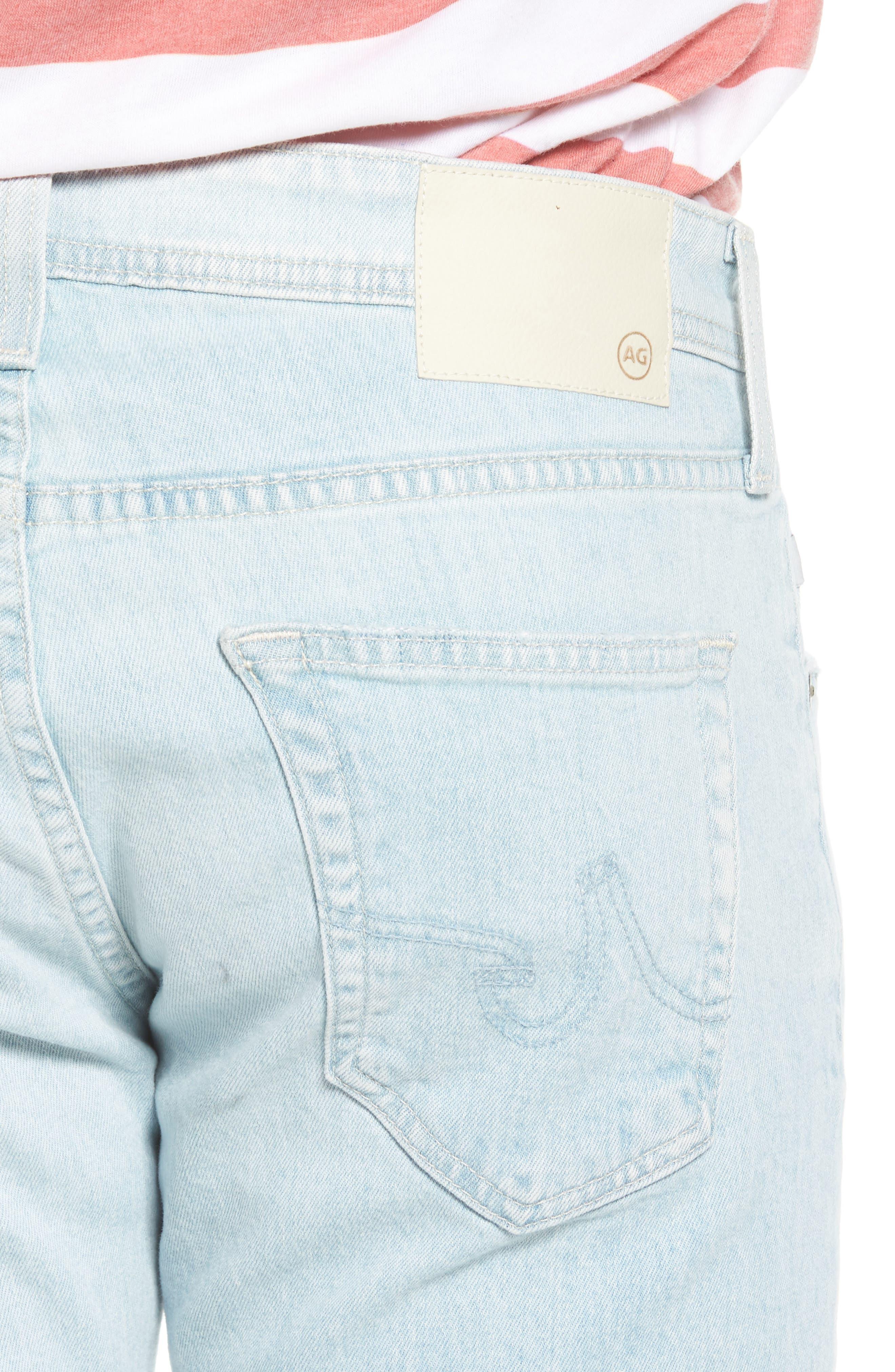 Dylan Skinny Fit Jeans,                             Alternate thumbnail 4, color,                             28 Years Salt Mist