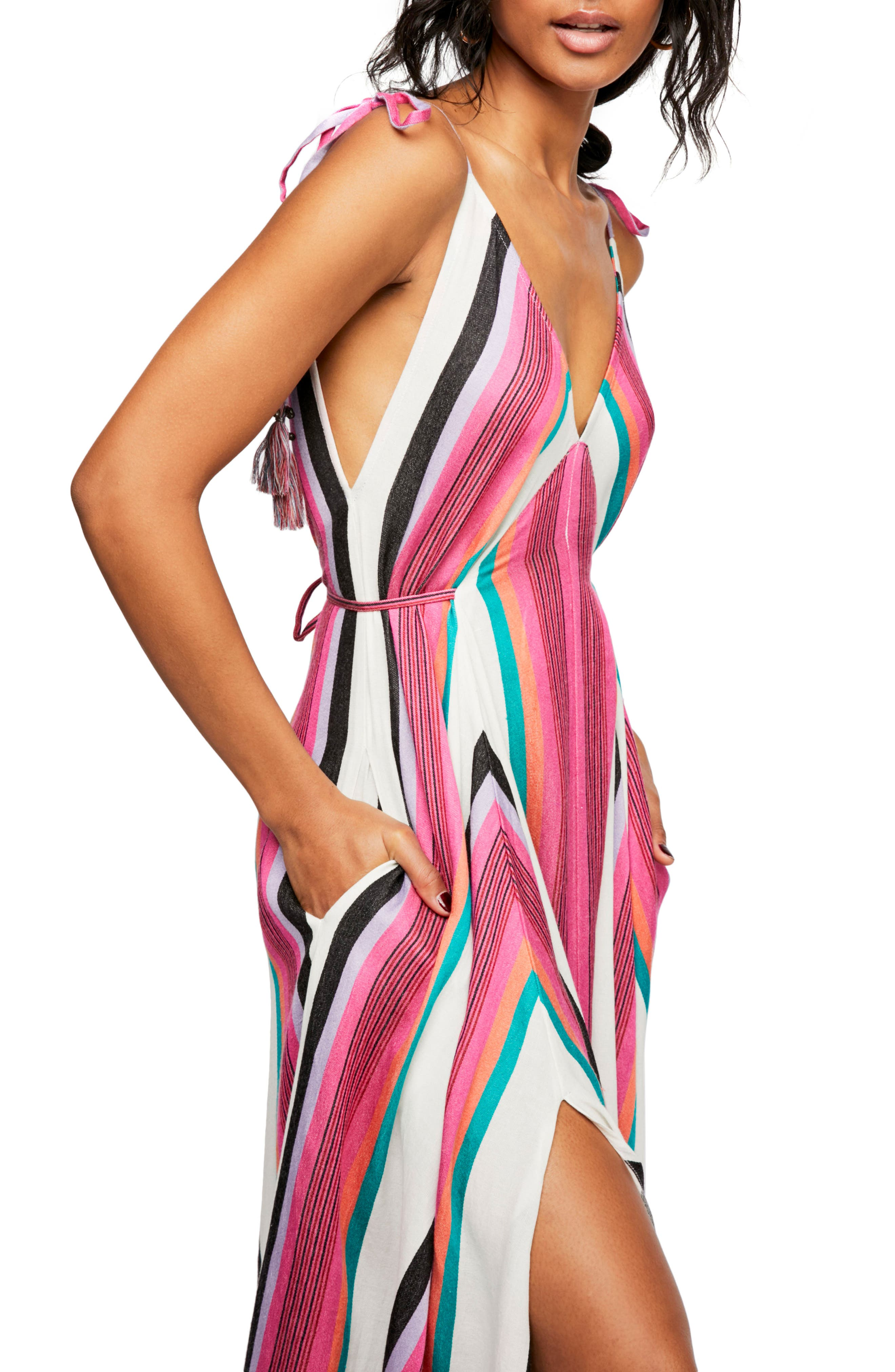 Endless Summer by Free People Neon Lights Maxi Dress,                             Alternate thumbnail 2, color,                             Assort