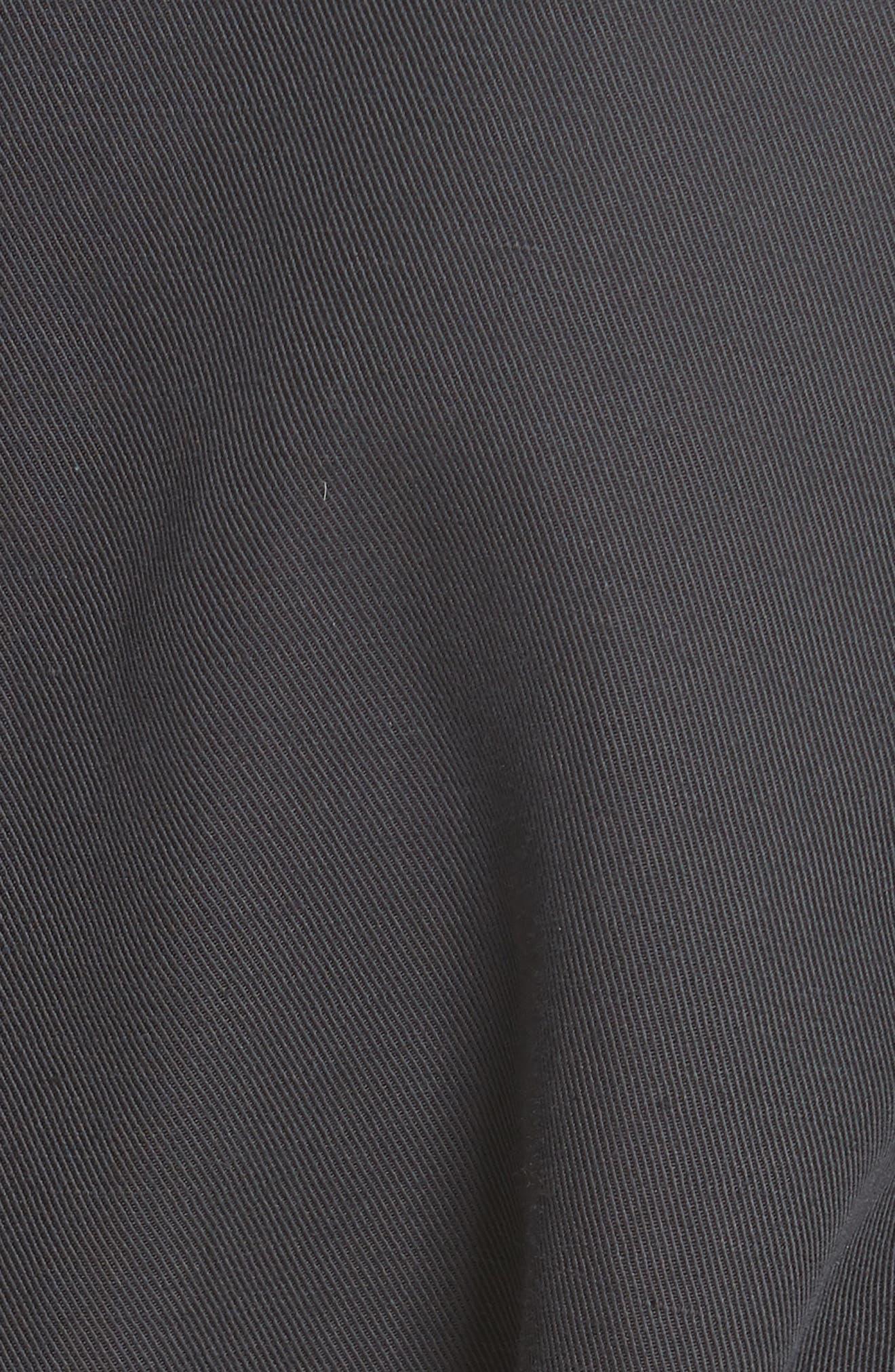 Belted Utility Jacket,                             Alternate thumbnail 3, color,                             Slate