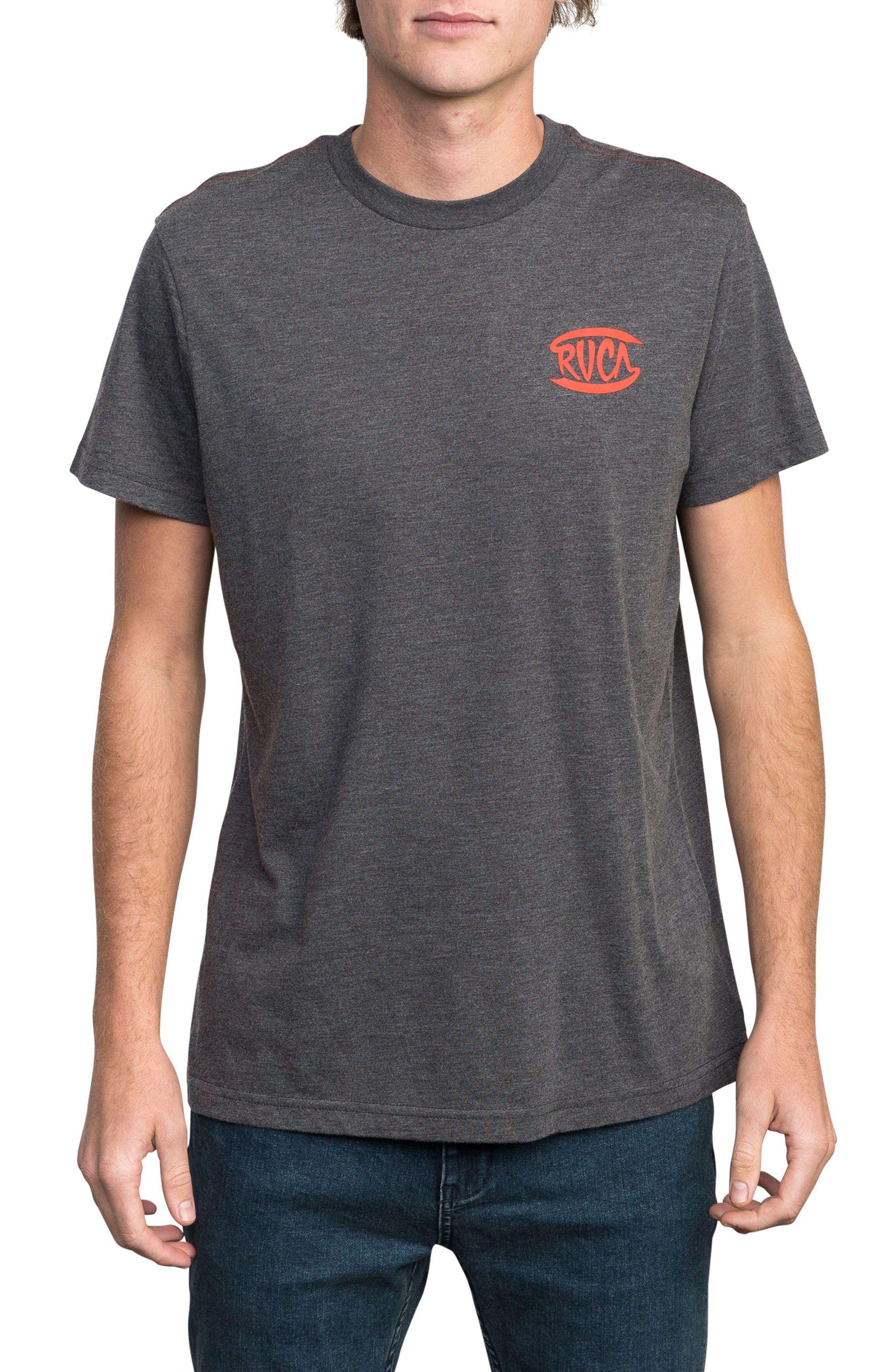 Clutch Logo Graphic T-Shirt,                             Main thumbnail 1, color,                             Black