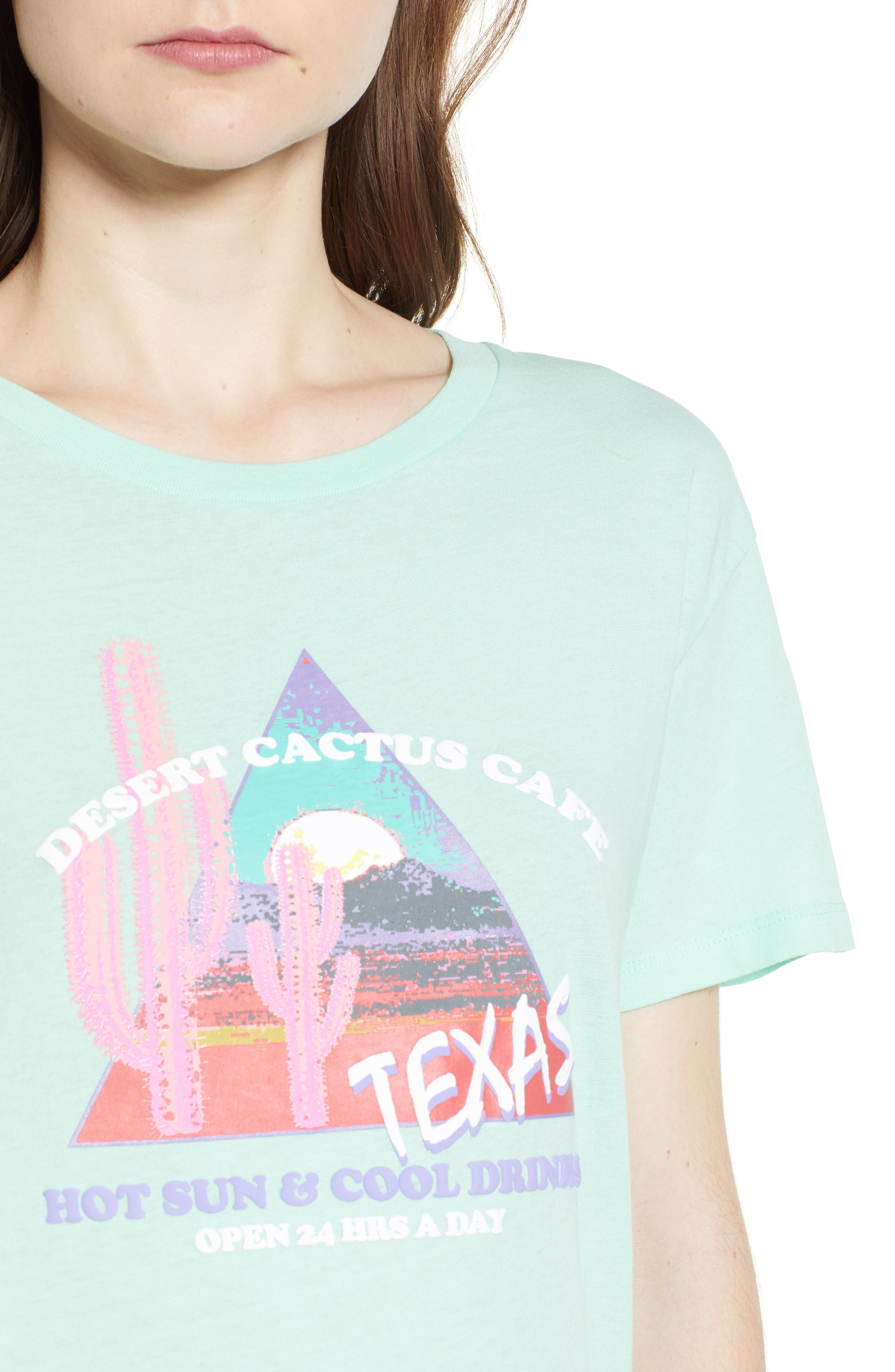 Texas Tee,                             Alternate thumbnail 4, color,                             Washed Mint