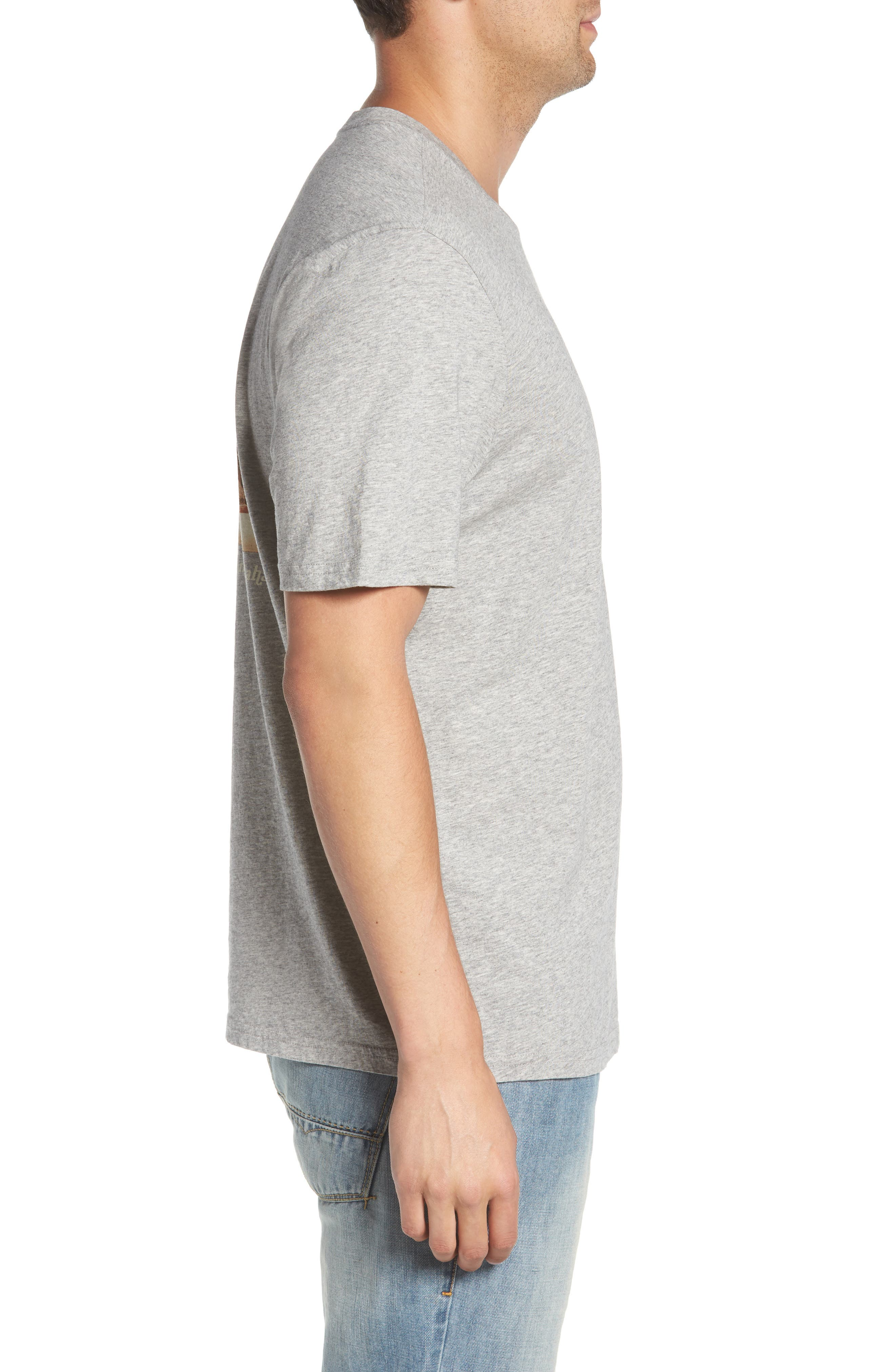 Vacation Collage T-Shirt,                             Alternate thumbnail 3, color,                             Grey Heather