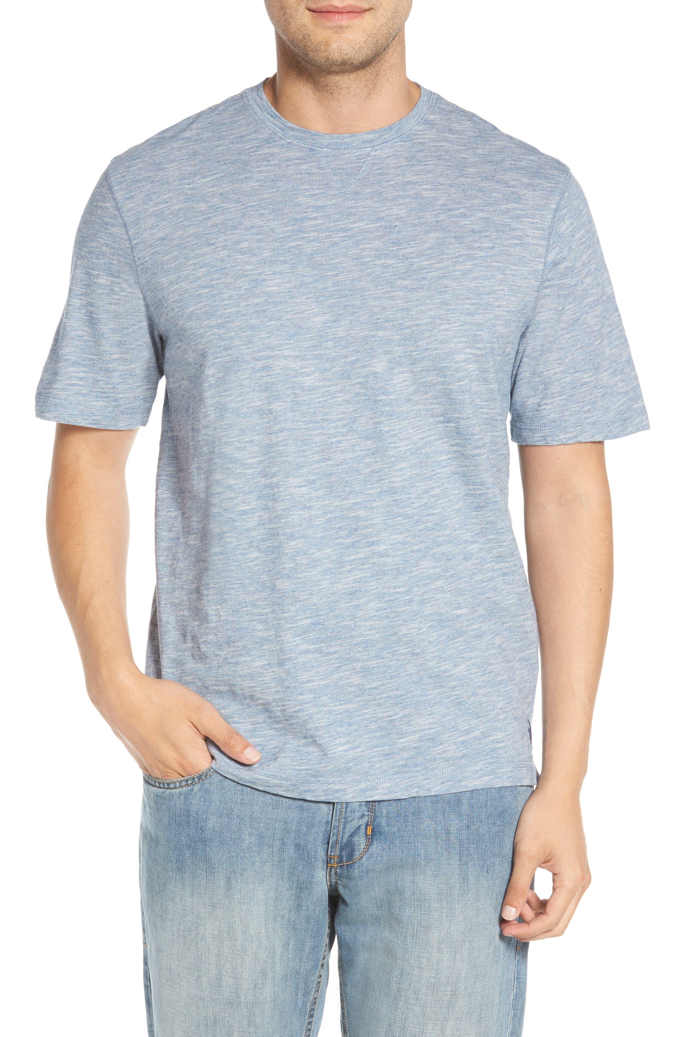 Slubbie Regular Fit Crewneck T-Shirt,                             Main thumbnail 1, color,                             Meteor