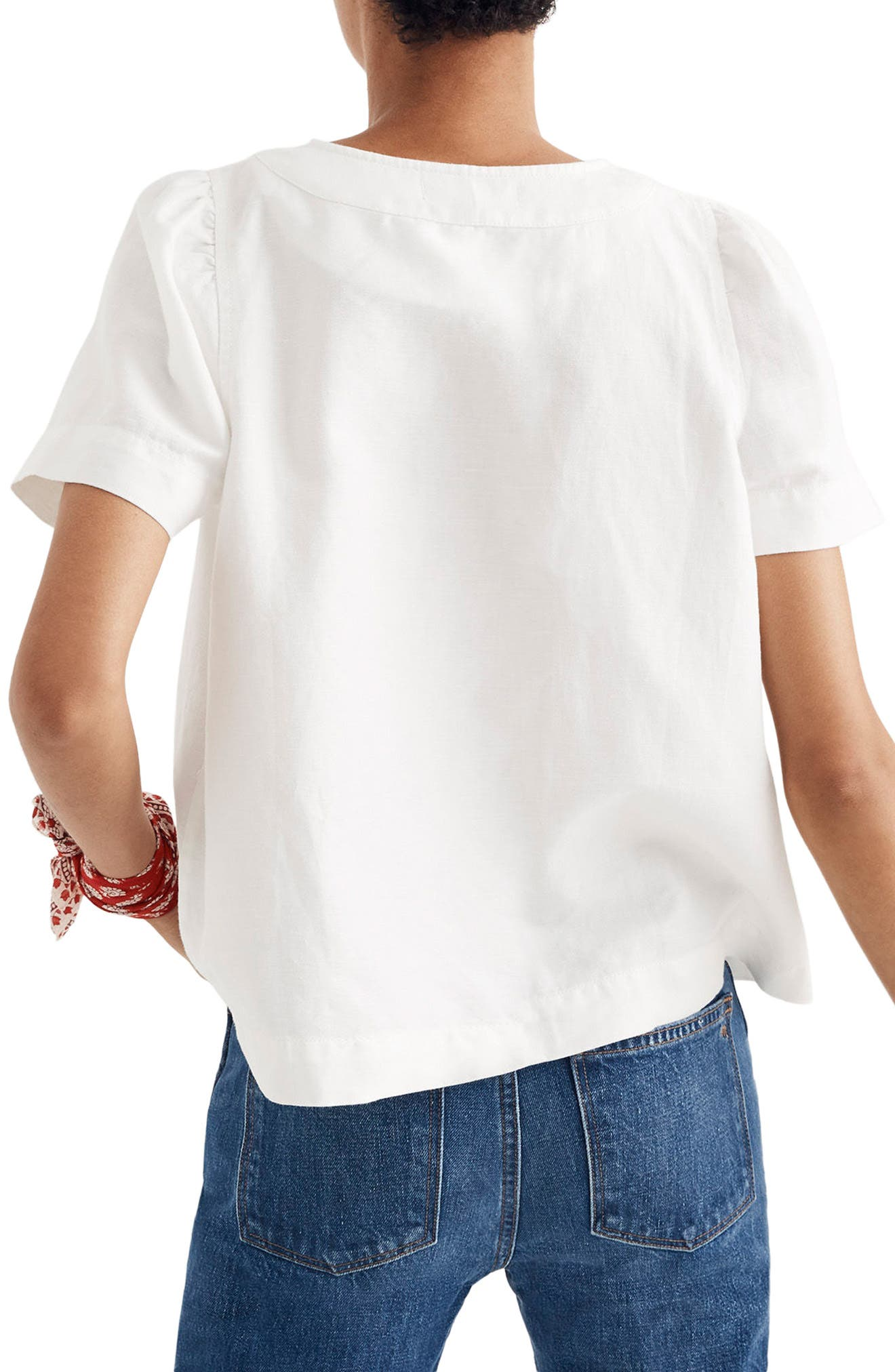 Popover Swing Top,                             Alternate thumbnail 2, color,                             Pure White