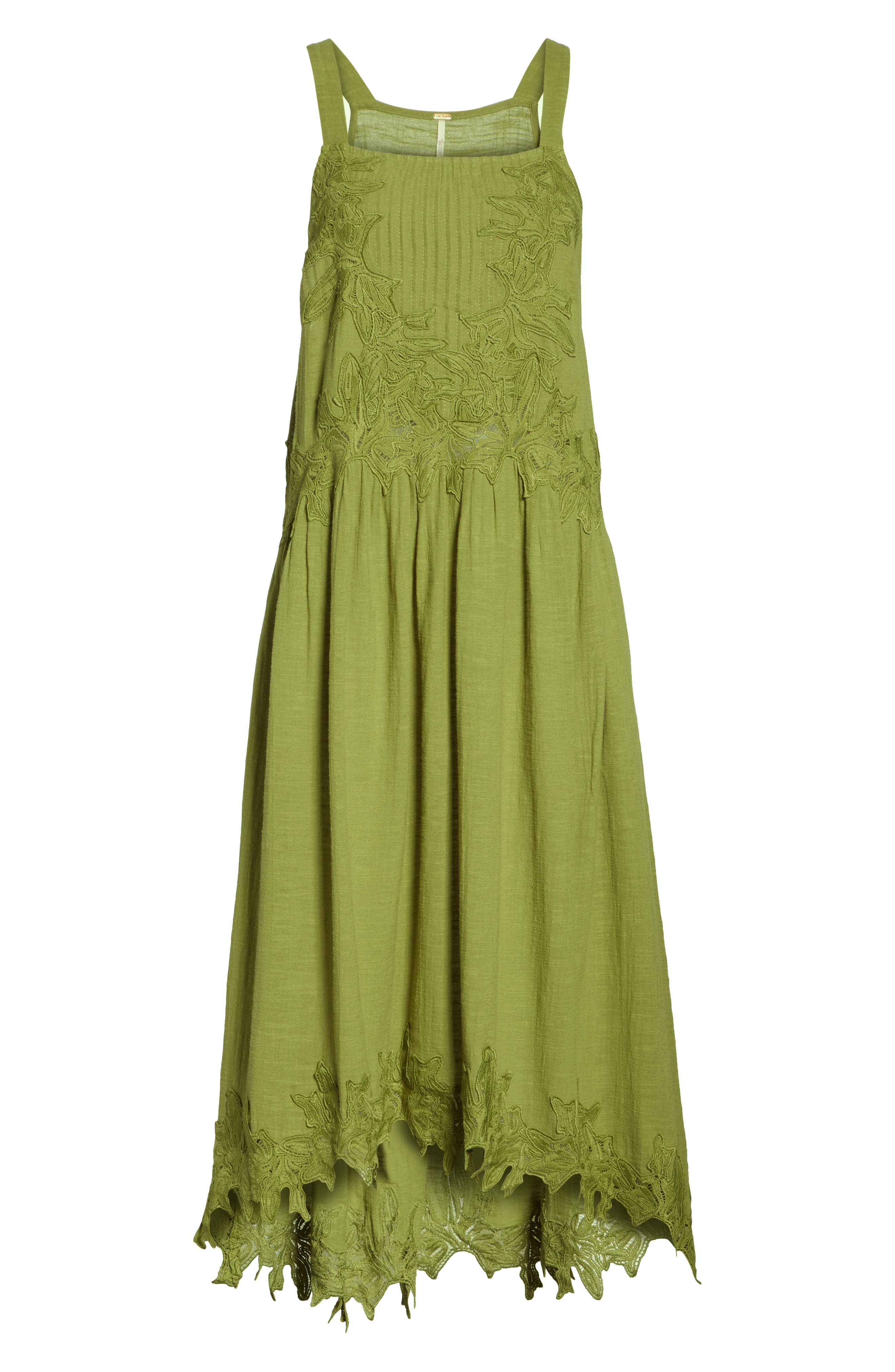 In Your Arms Appliqué Maxi Dress,                             Alternate thumbnail 6, color,                             Green