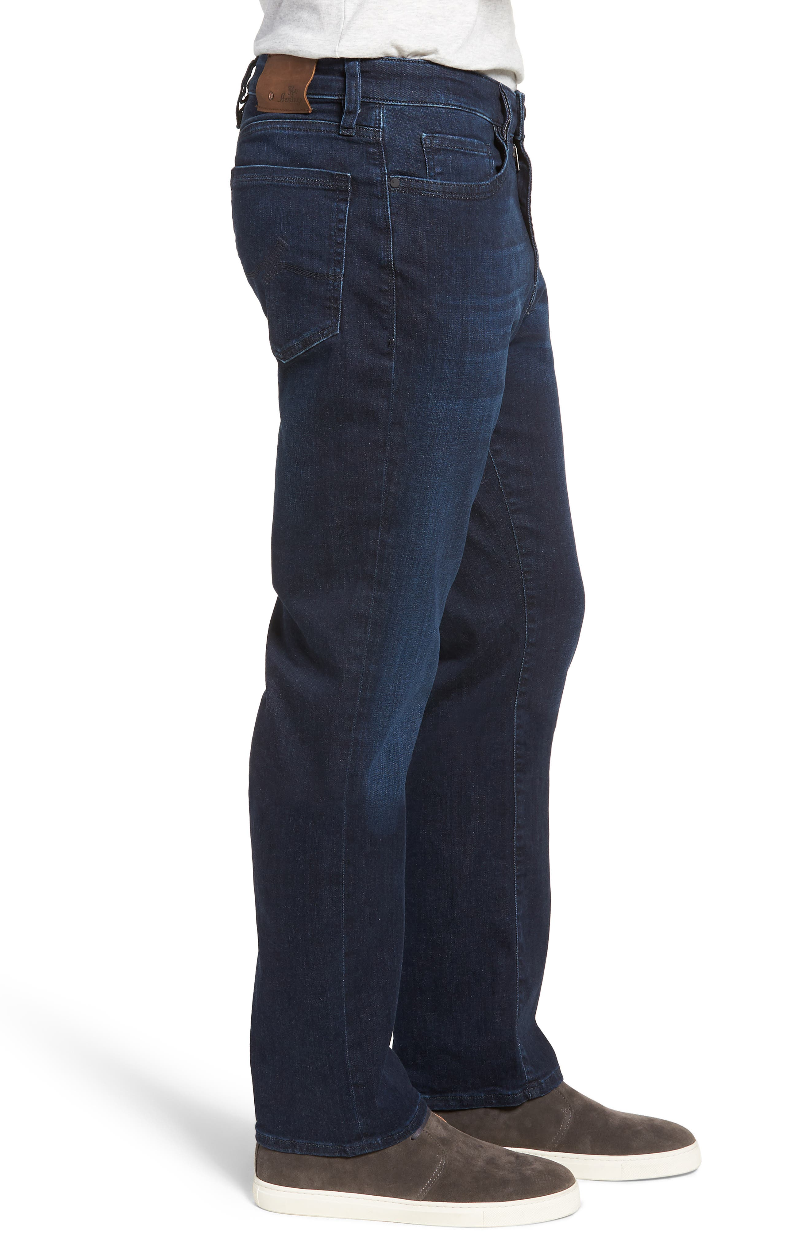Charisma Relaxed Fit Jeans,                             Alternate thumbnail 3, color,                             Dark Milan
