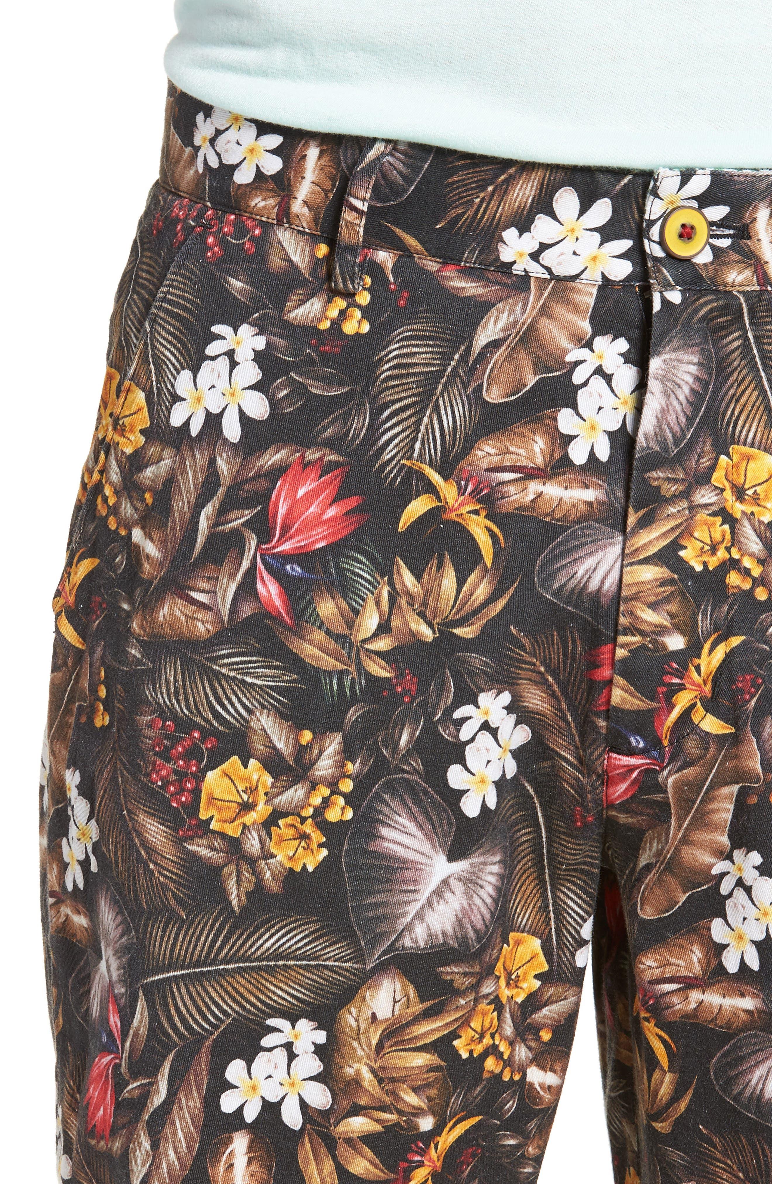 Maracas Woven Shorts,                             Alternate thumbnail 3, color,                             Multi
