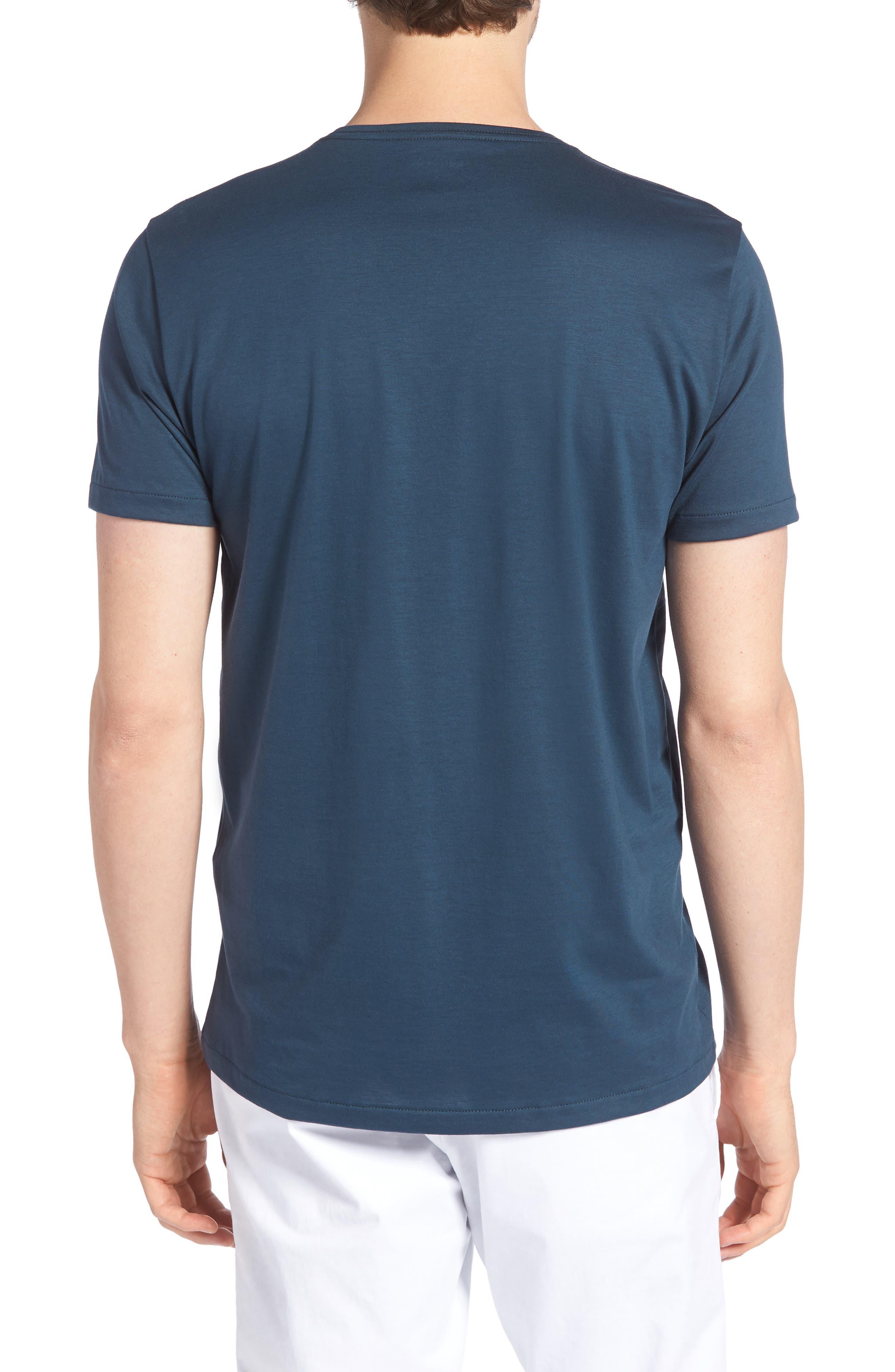 Refined Slim Fit T-Shirt,                             Alternate thumbnail 2, color,                             Lake Front