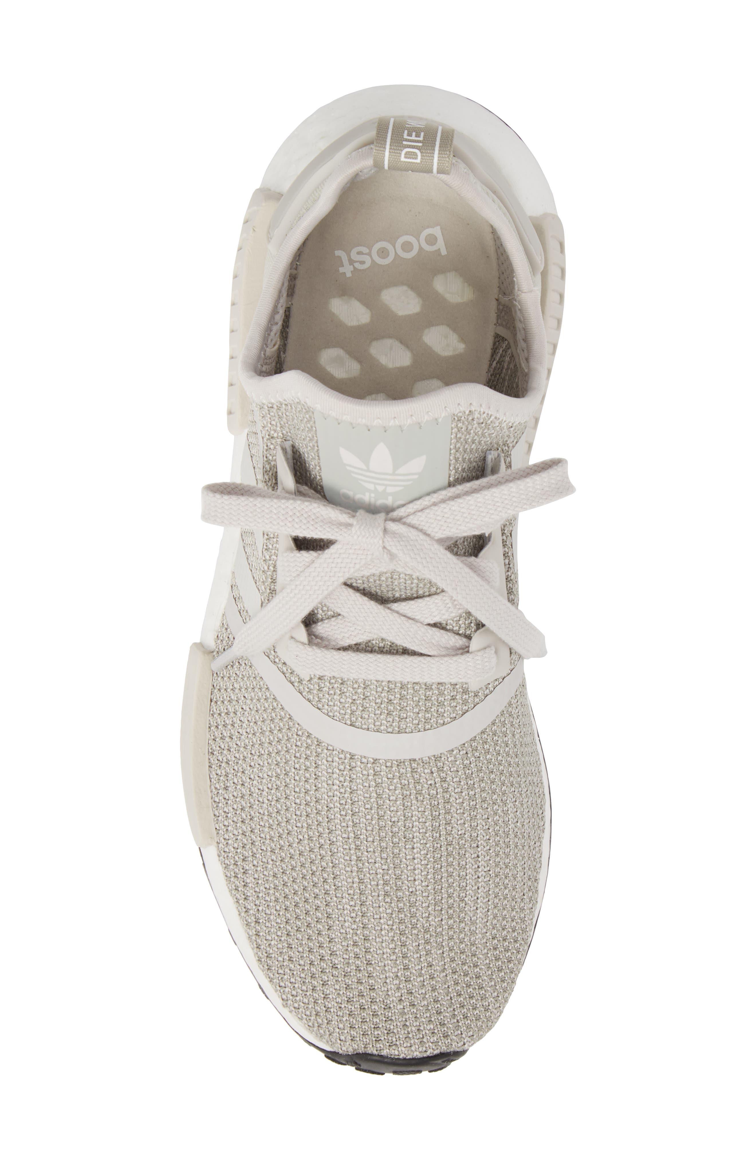 NMD_R1 Sneaker,                             Alternate thumbnail 5, color,                             Raw Gold/ Tech Beige/ Black