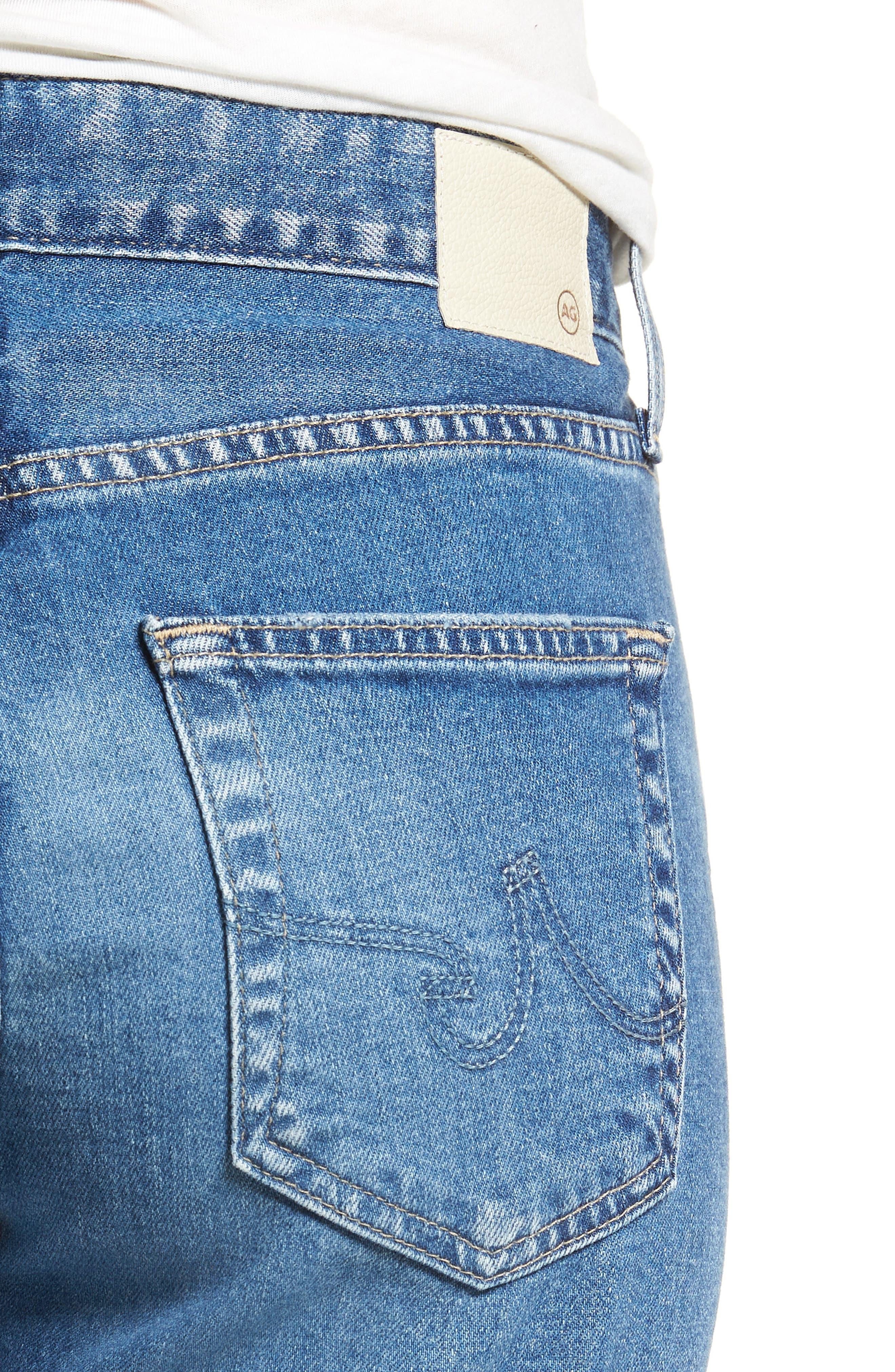 The Ex-Boyfriend Slim Jeans,                             Alternate thumbnail 4, color,                             14 Years Foxtail
