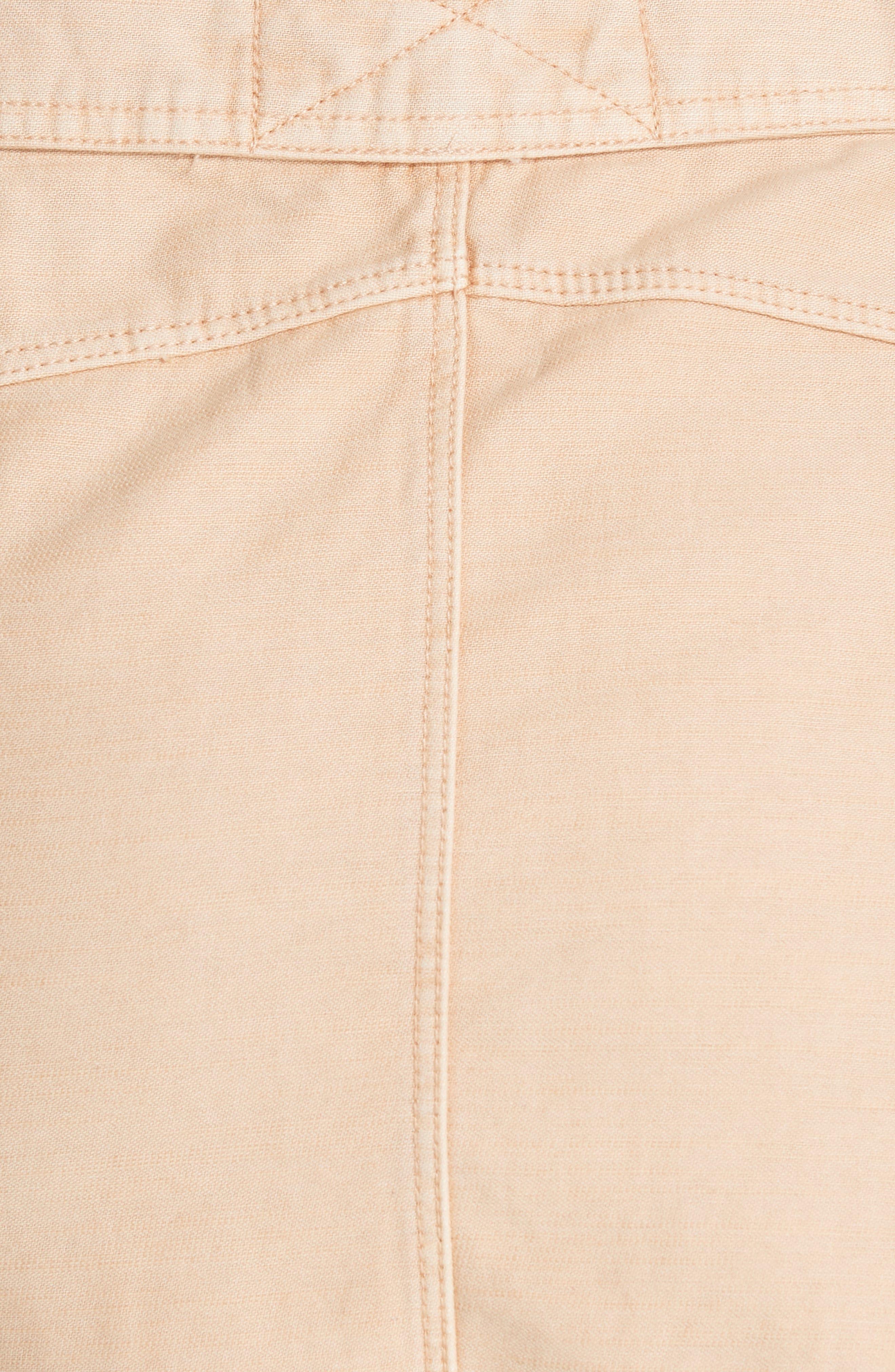 Hangin' On Tight Miniskirt,                             Alternate thumbnail 7, color,                             Nude
