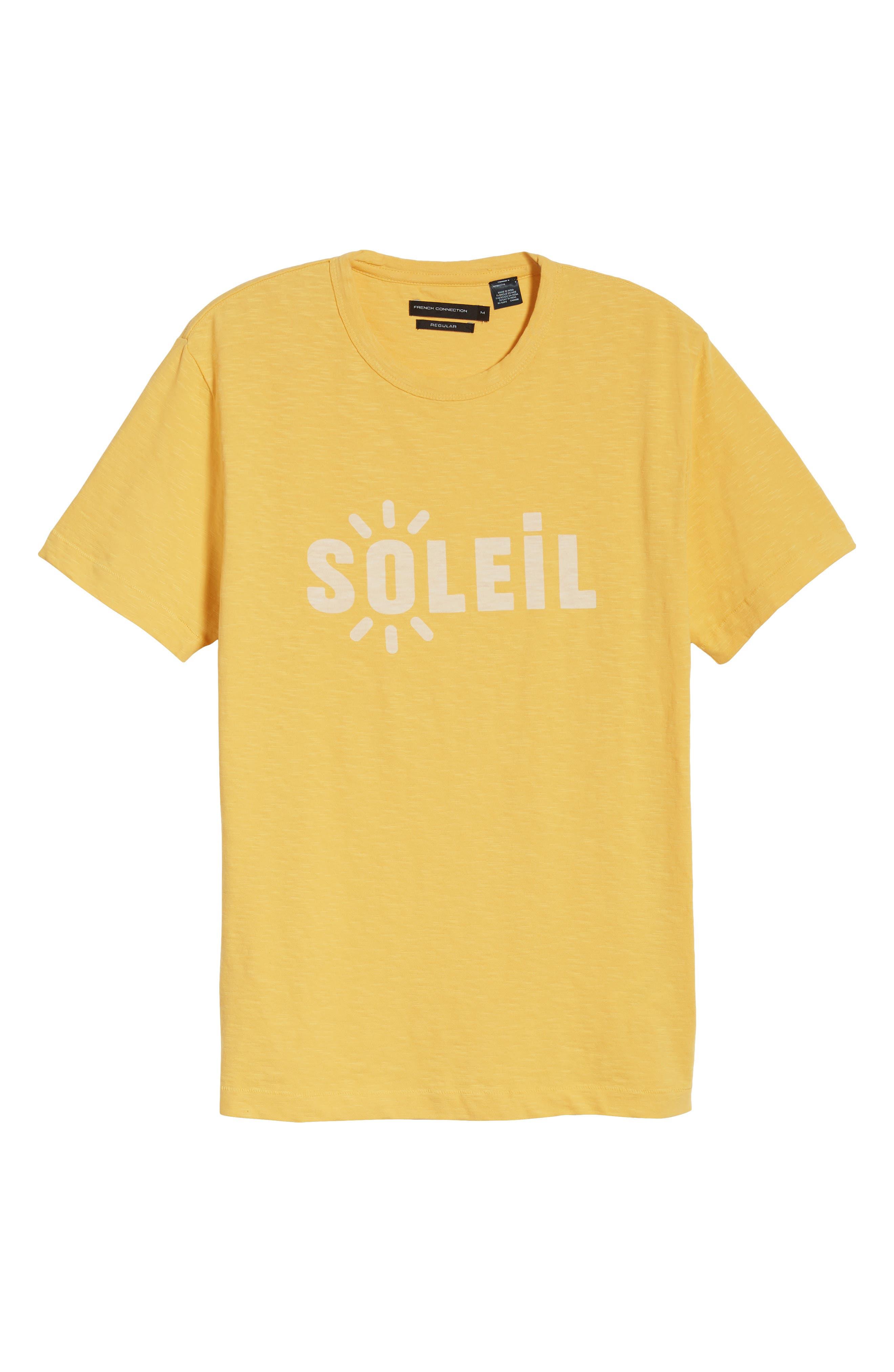 Soleil T-Shirt,                             Alternate thumbnail 6, color,                             Banana