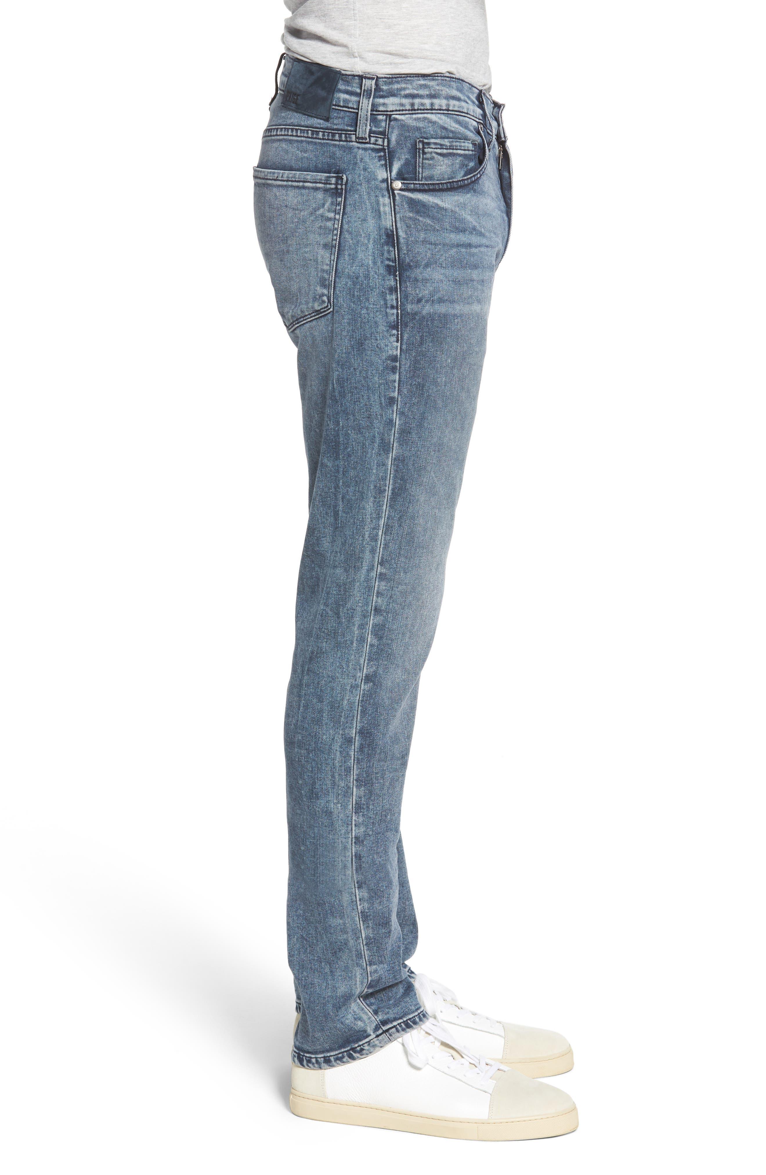 Transcend - Lennox Slim Fit Jeans,                             Alternate thumbnail 3, color,                             Higgs