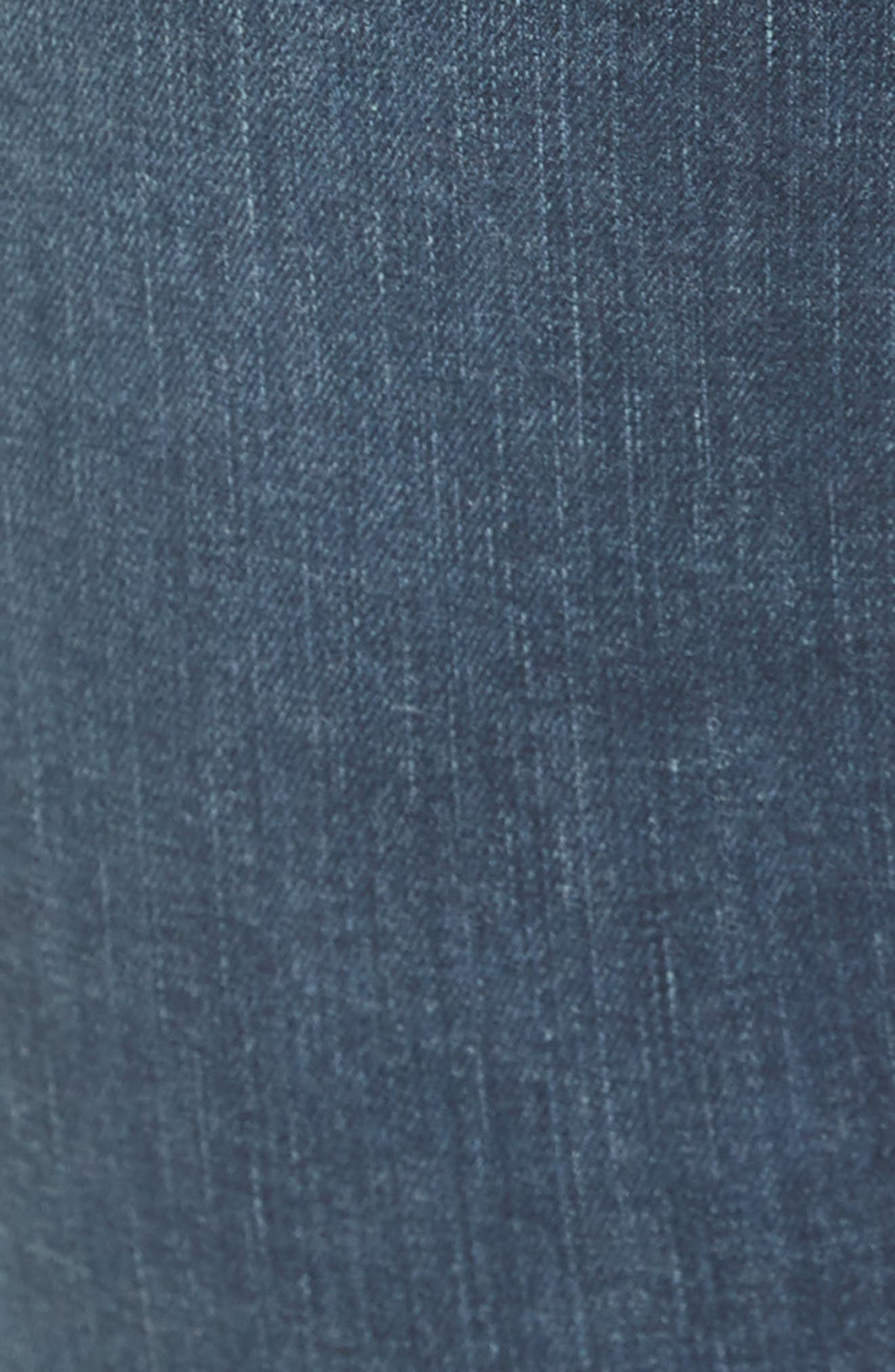 We the Free by Free People Stratford Skinny Jeans,                             Alternate thumbnail 5, color,                             Blue