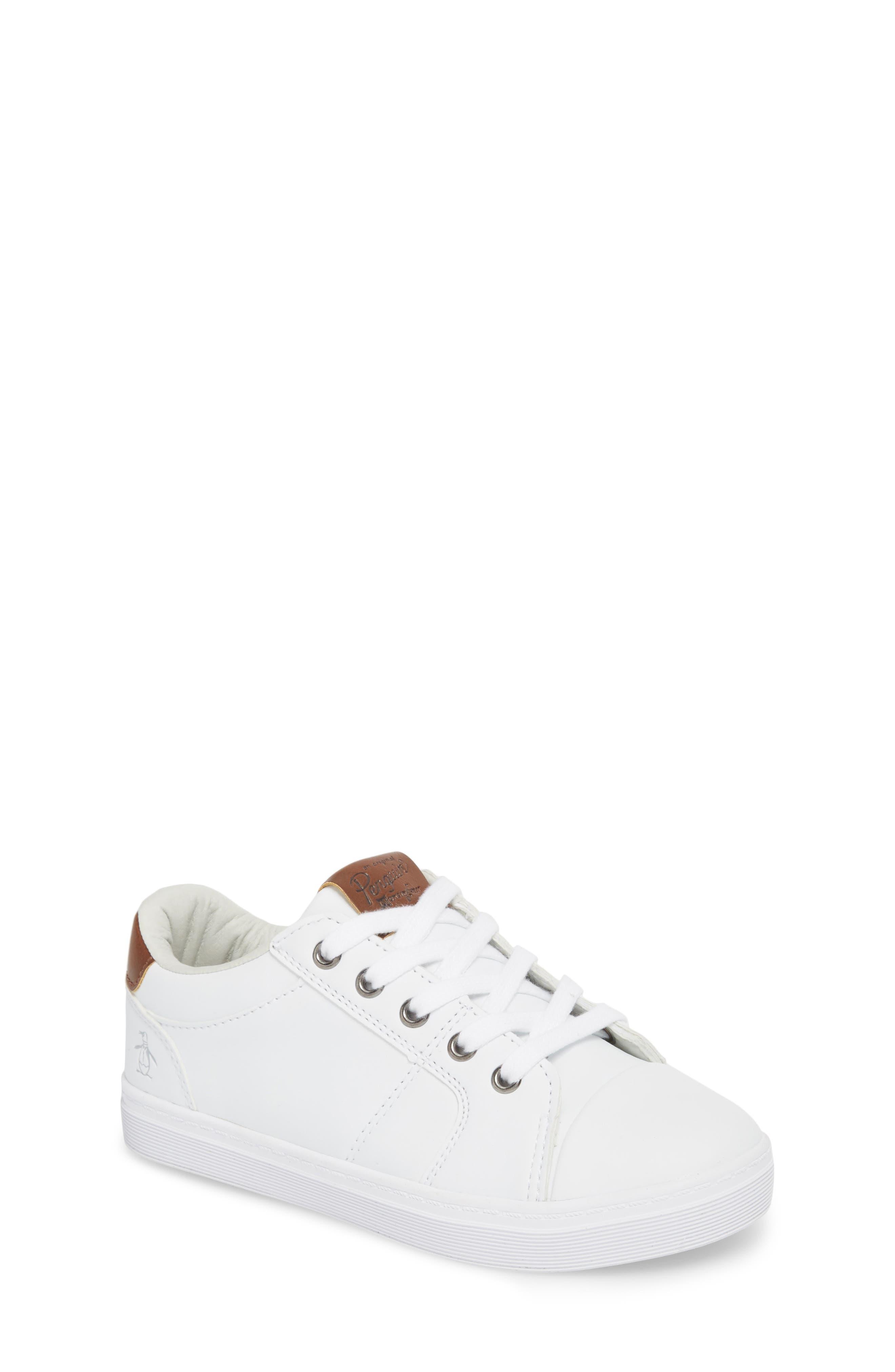 Cobin Sneaker,                         Main,                         color, White/ Cognac
