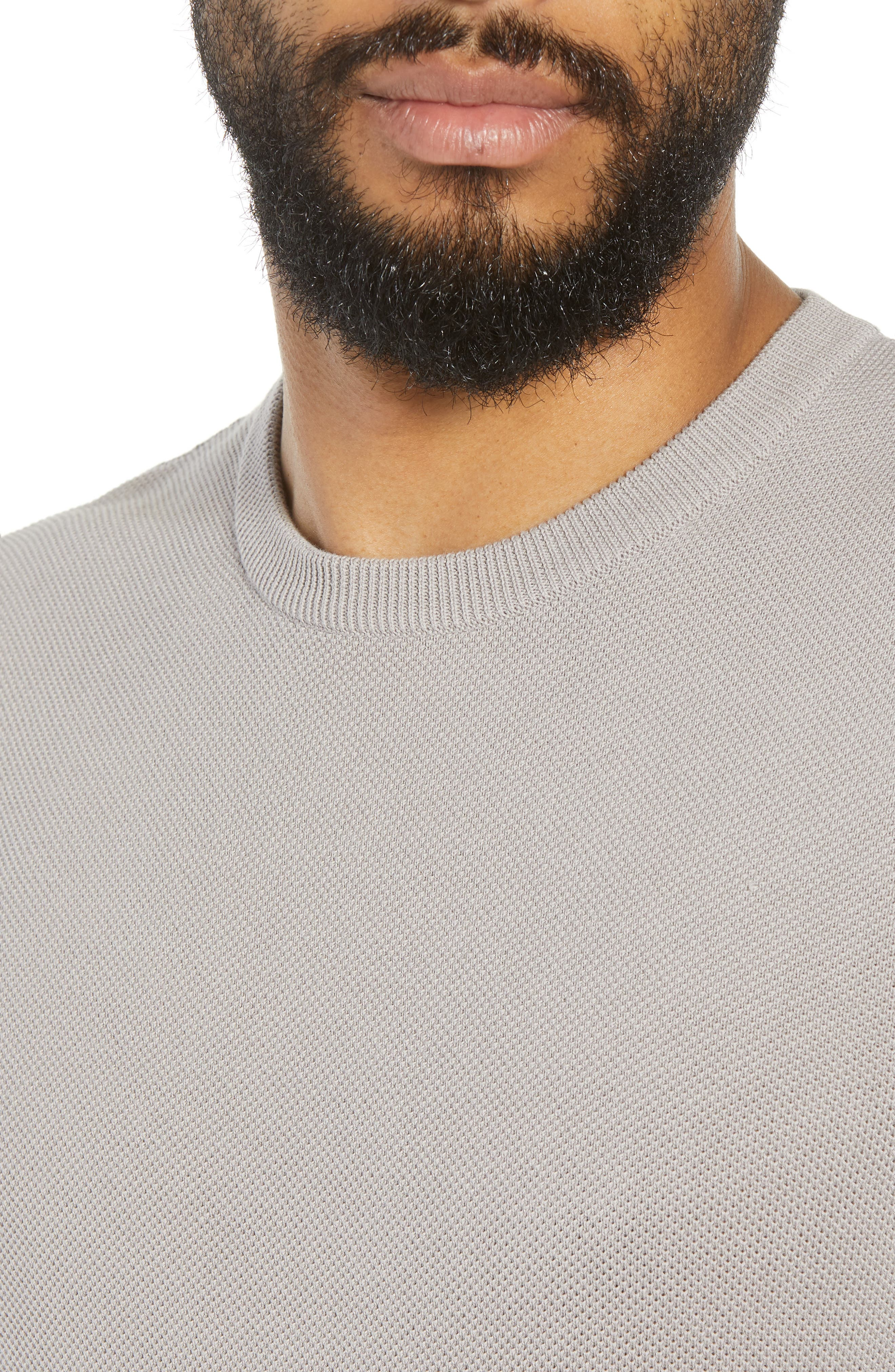Alternate Image 4  - Theory Riland Cotton Long Sleeve T-Shirt