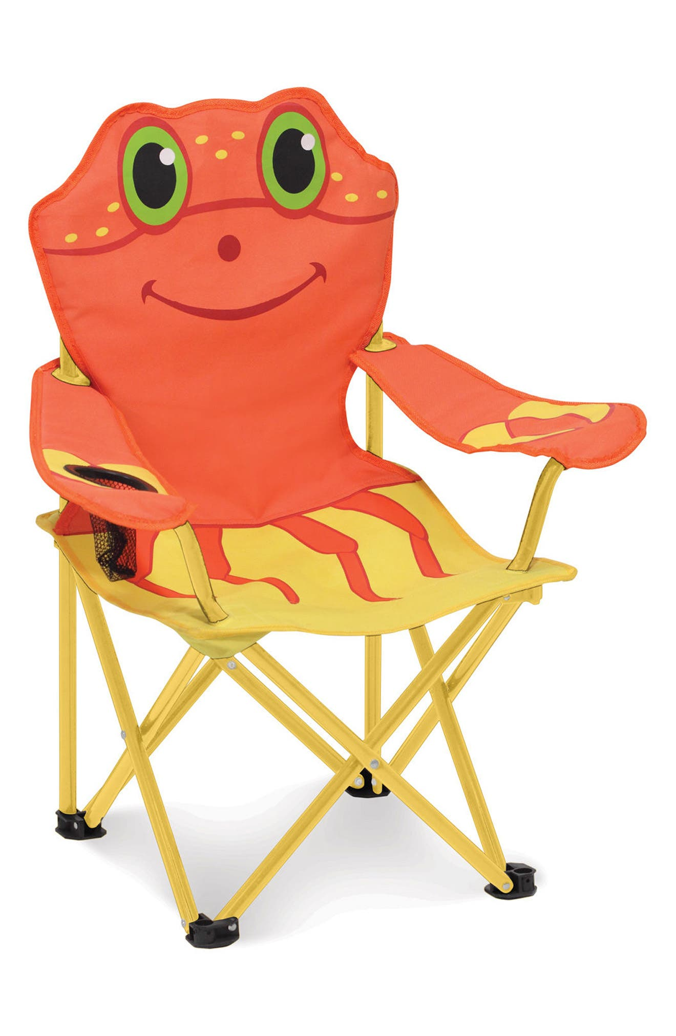 Clicker Crab Portable Chair,                             Main thumbnail 1, color,                             Multi