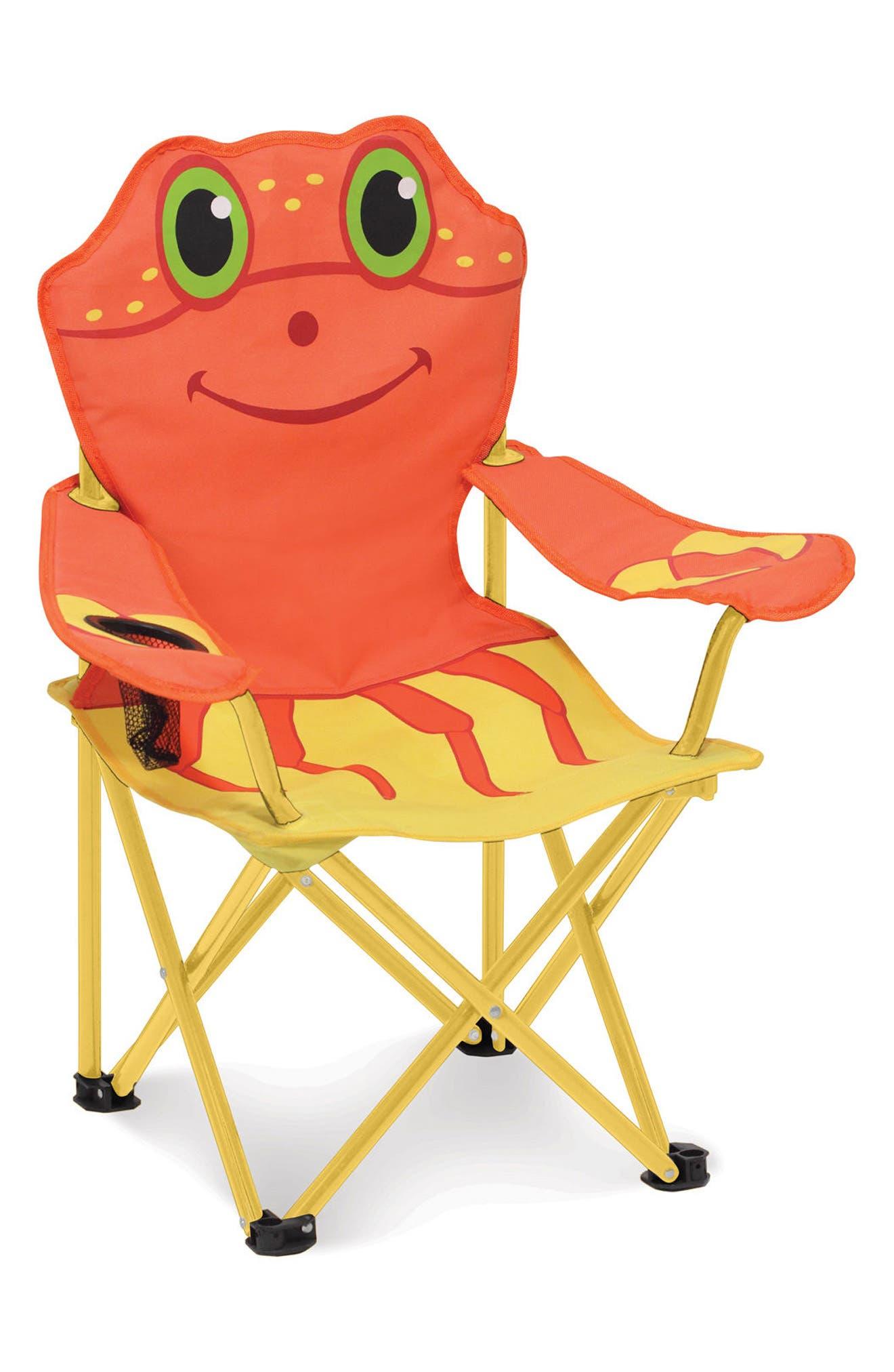 Clicker Crab Portable Chair,                         Main,                         color, Multi