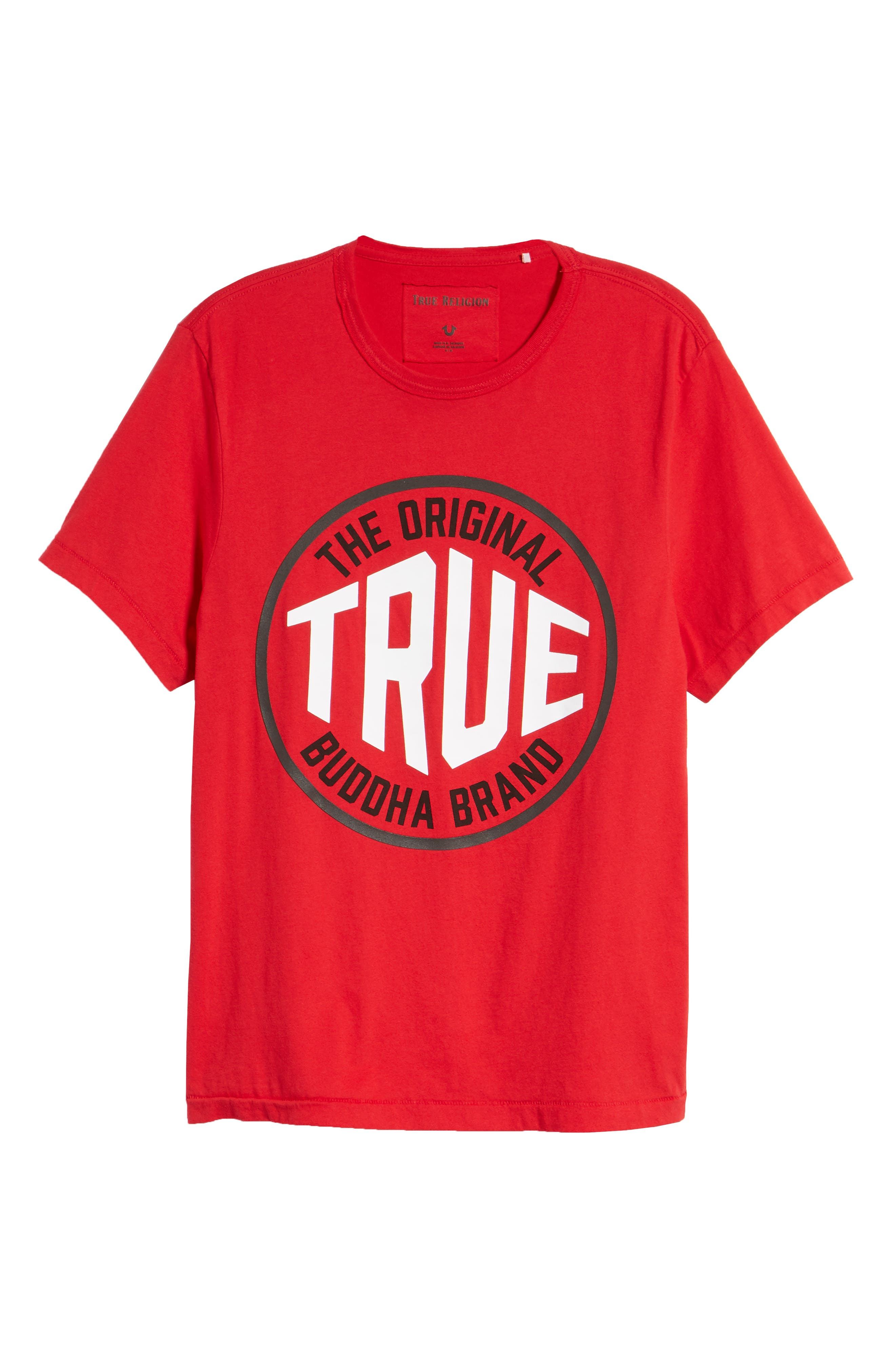 Outfield T-Shirt,                             Alternate thumbnail 6, color,                             True Red