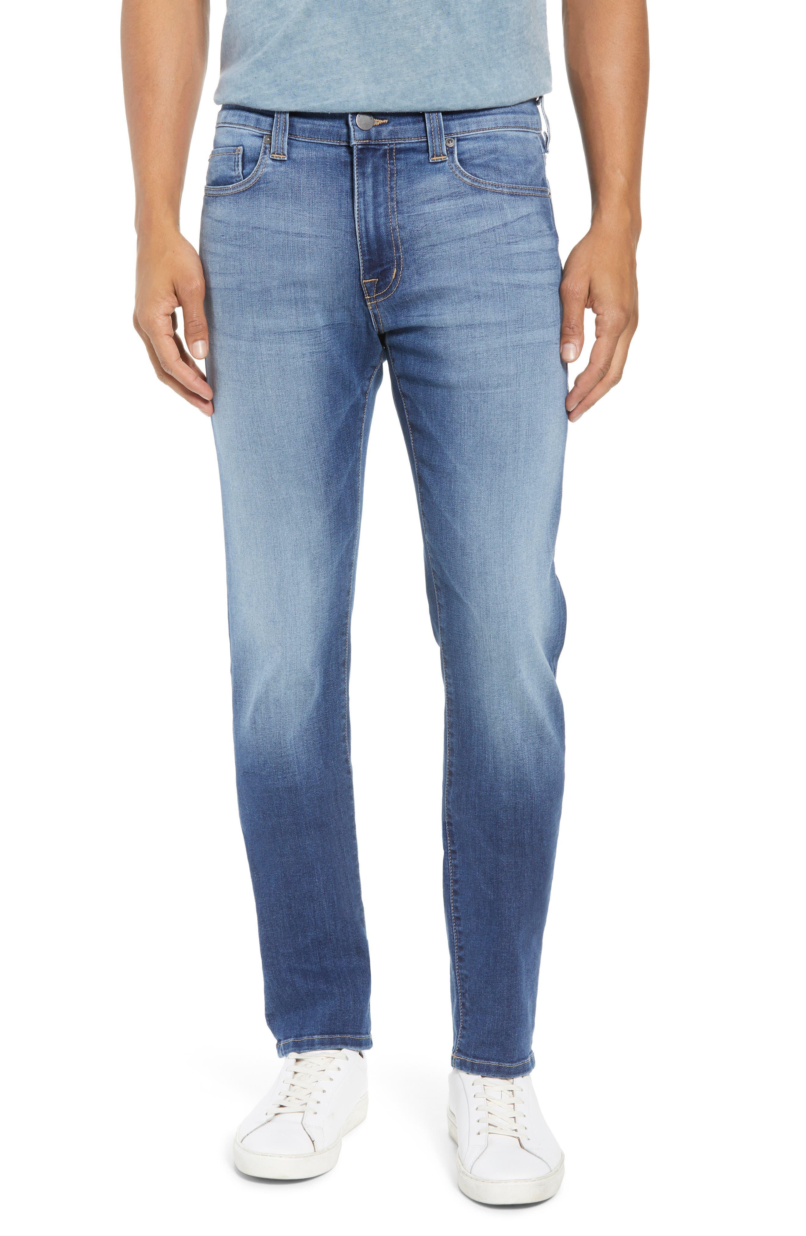 Torino Slim Fit Jeans,                             Main thumbnail 1, color,                             Elysium Blue