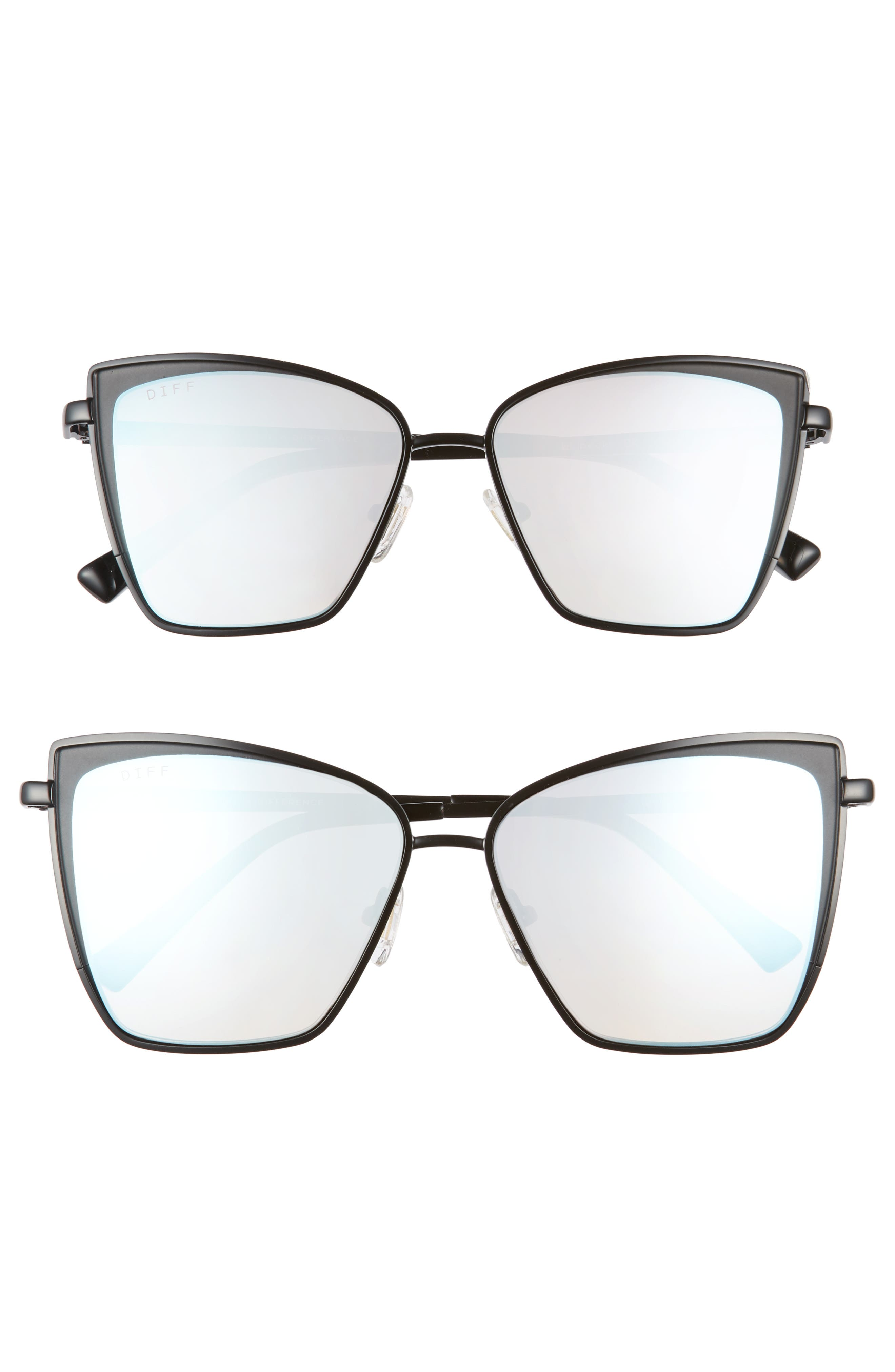 DIFF Mommy & Me Becky 2-Pack Cat Eye Sunglasses ($135 Value)