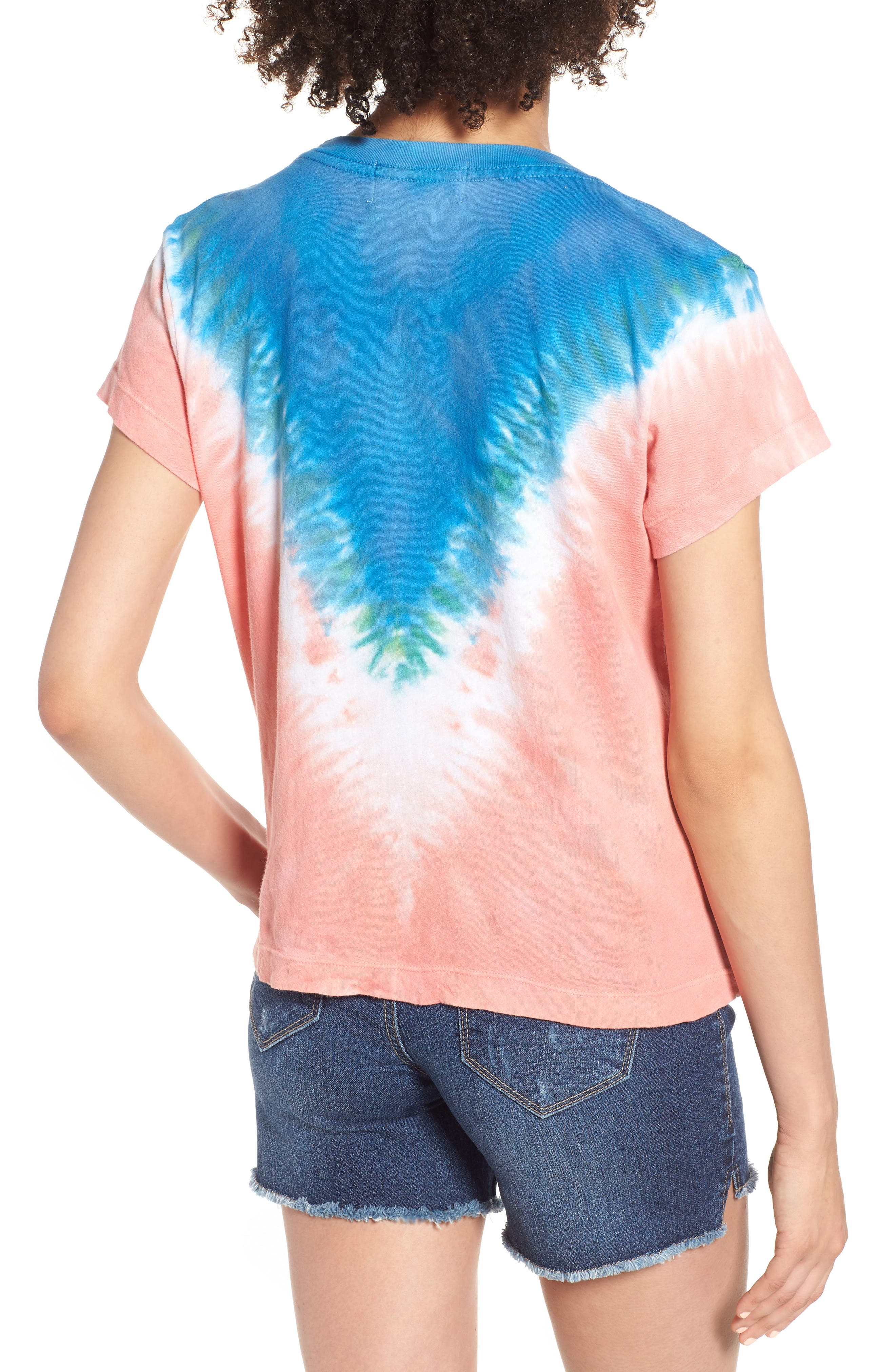 Bahama Mama No9 Tee,                             Alternate thumbnail 2, color,                             Pacific Tie Dye