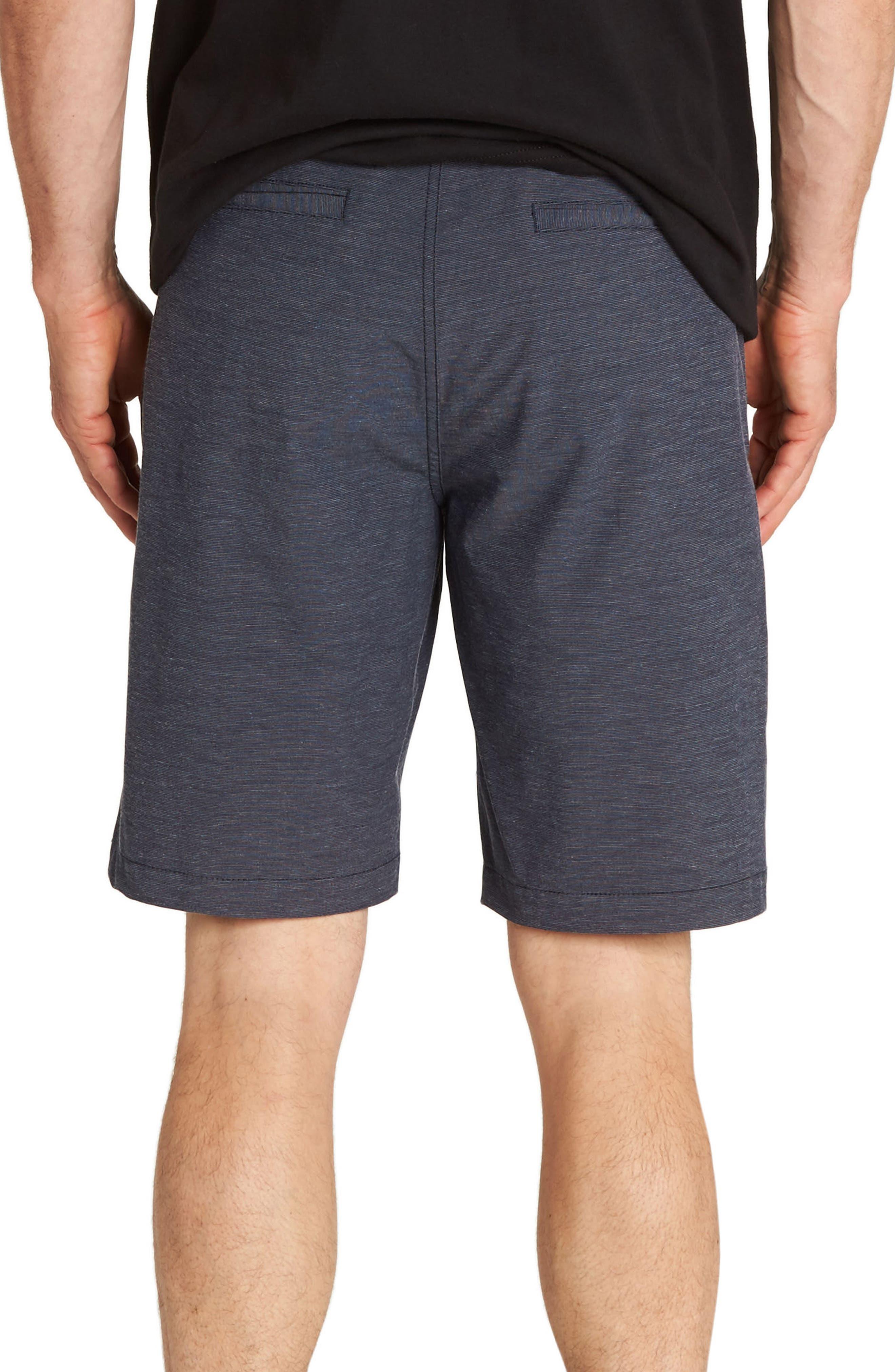 Crossfire X Mid-Length Shorts,                             Alternate thumbnail 2, color,                             Navy