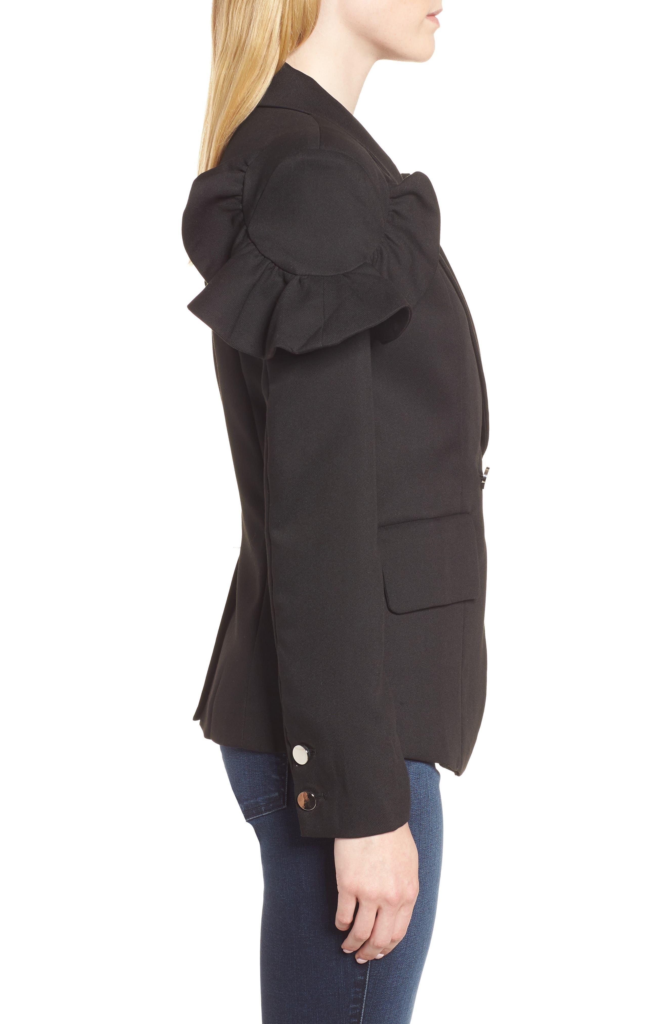 Harmony Jacket,                             Alternate thumbnail 3, color,                             Black
