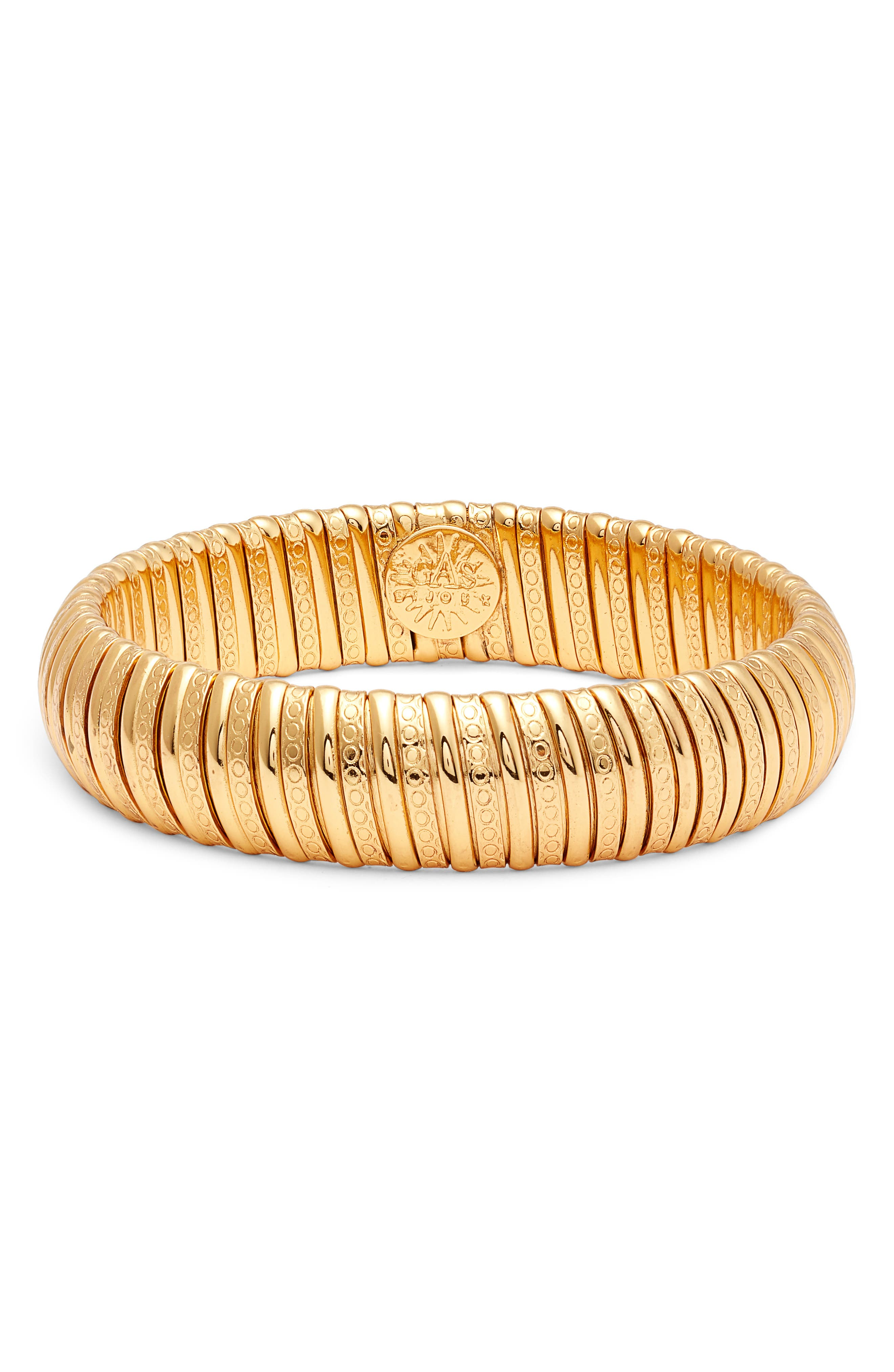 Breva Bangle Bracelet,                         Main,                         color, Gold
