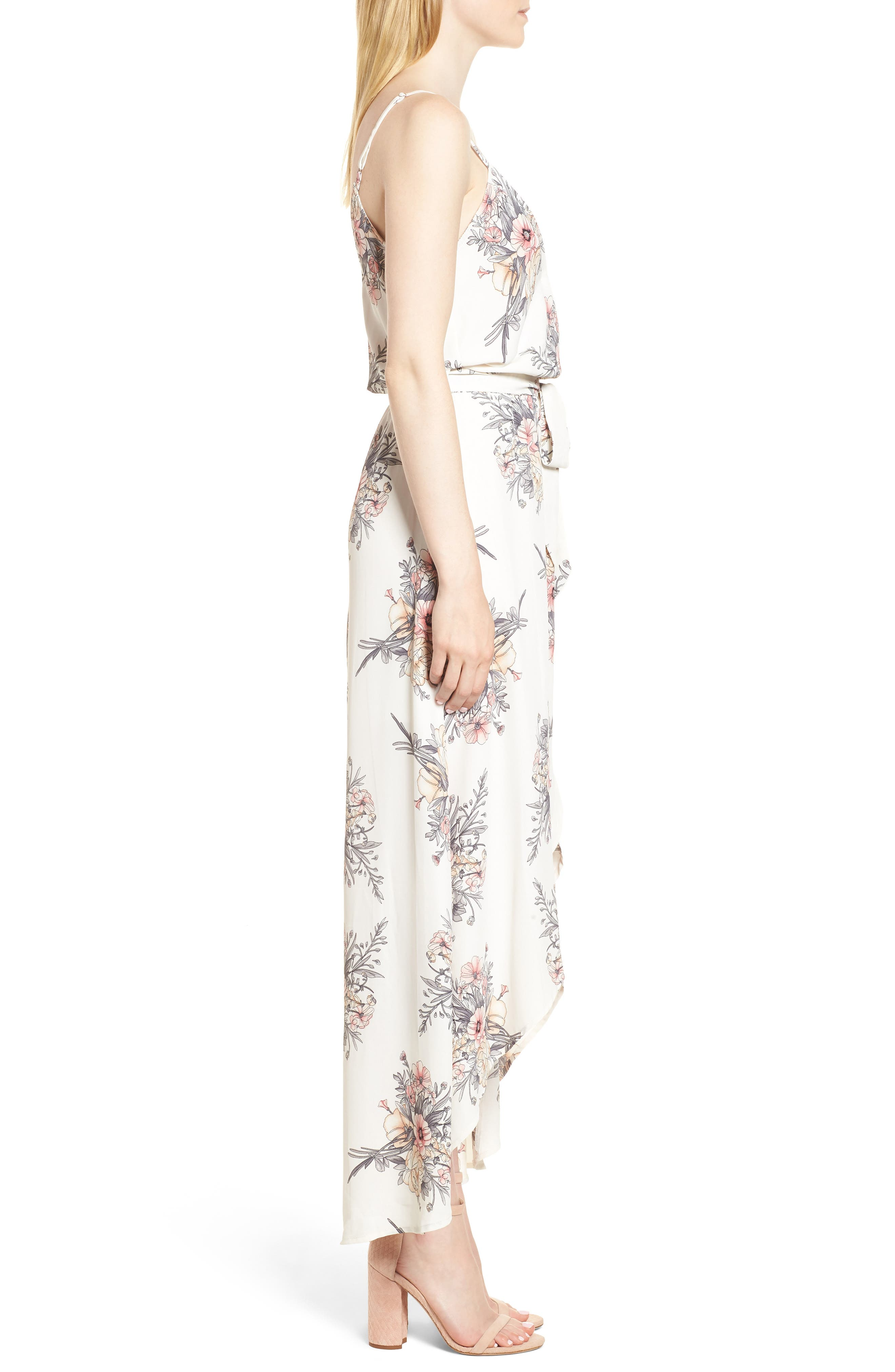 Bishop + Young Summer of Love Maxi Dress,                             Alternate thumbnail 3, color,                             Summer Of Love Print