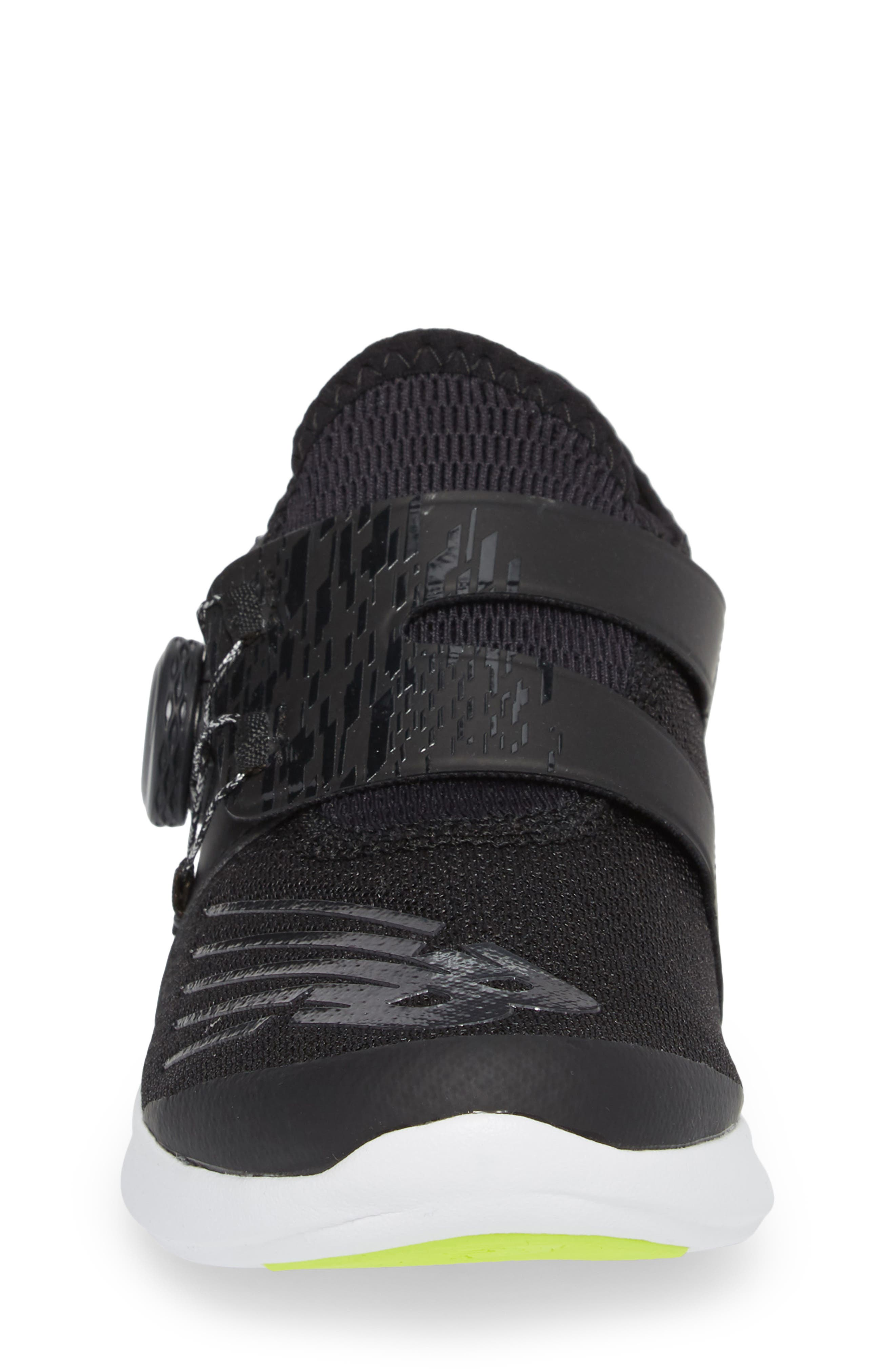 BKO Running Shoe,                             Alternate thumbnail 4, color,                             Black/ Hi Lite