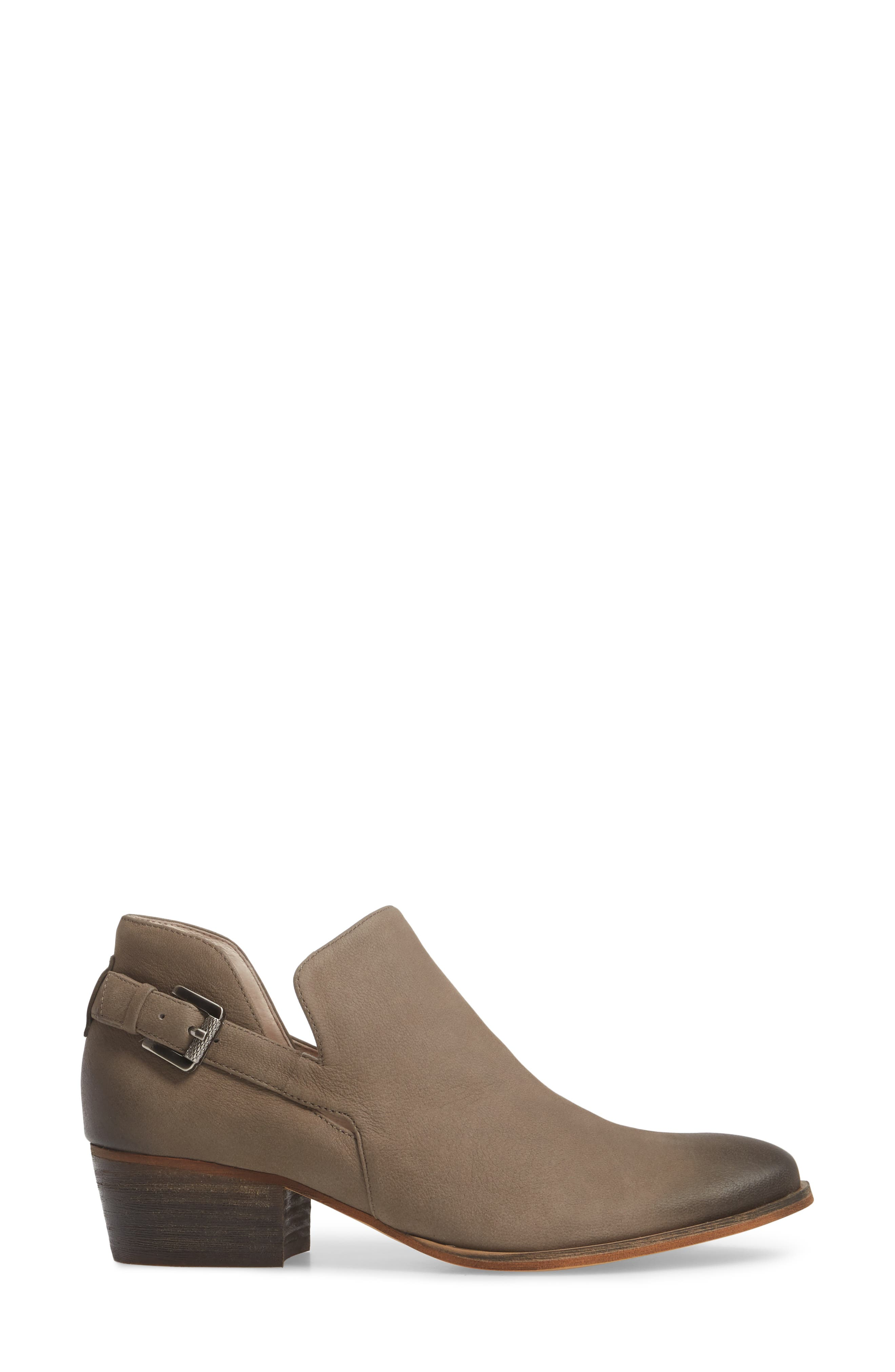 Toby Bootie,                             Alternate thumbnail 3, color,                             Stone Oiled Nubuck