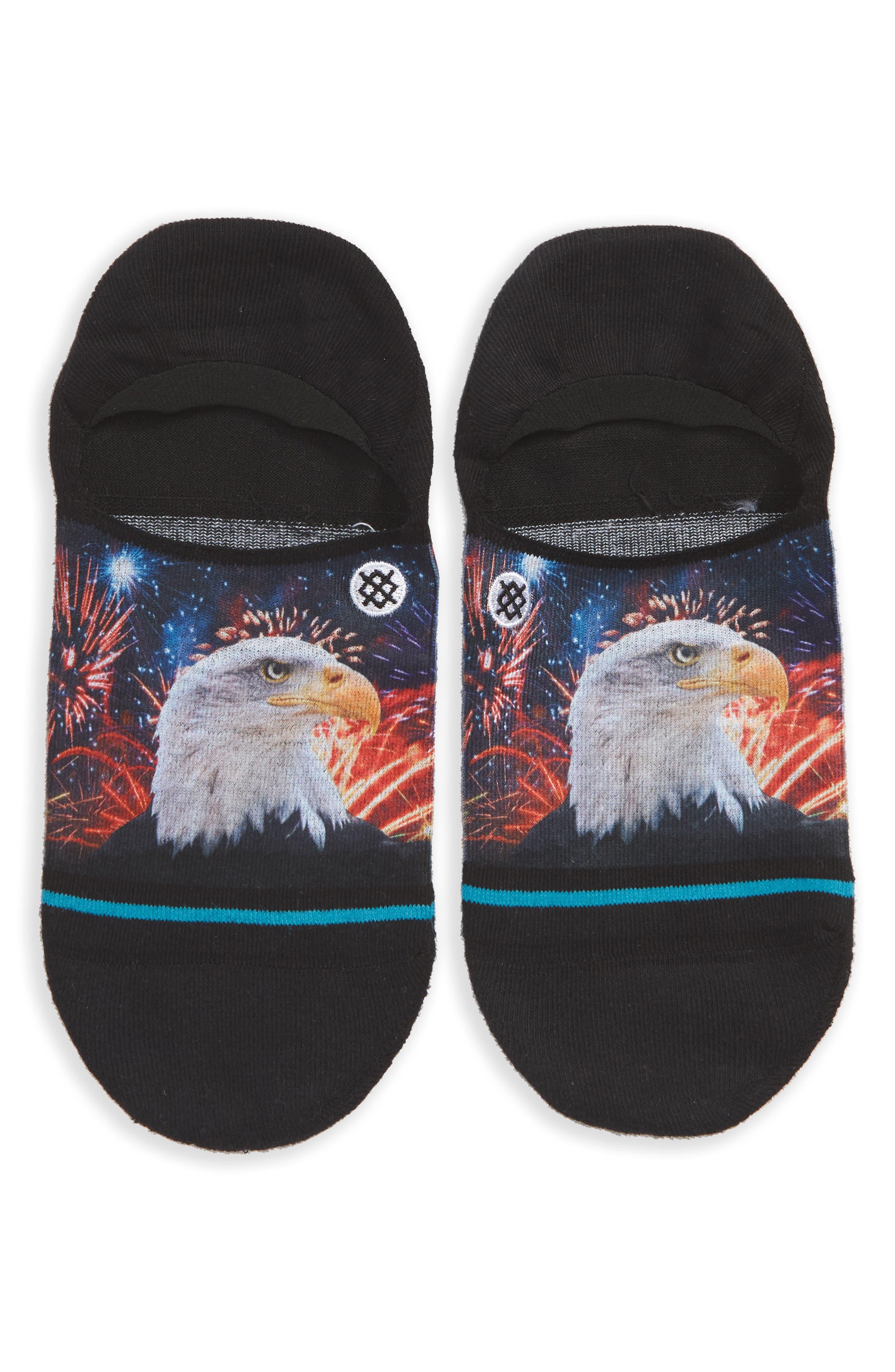 Defender Liner Socks,                             Main thumbnail 1, color,                             Black