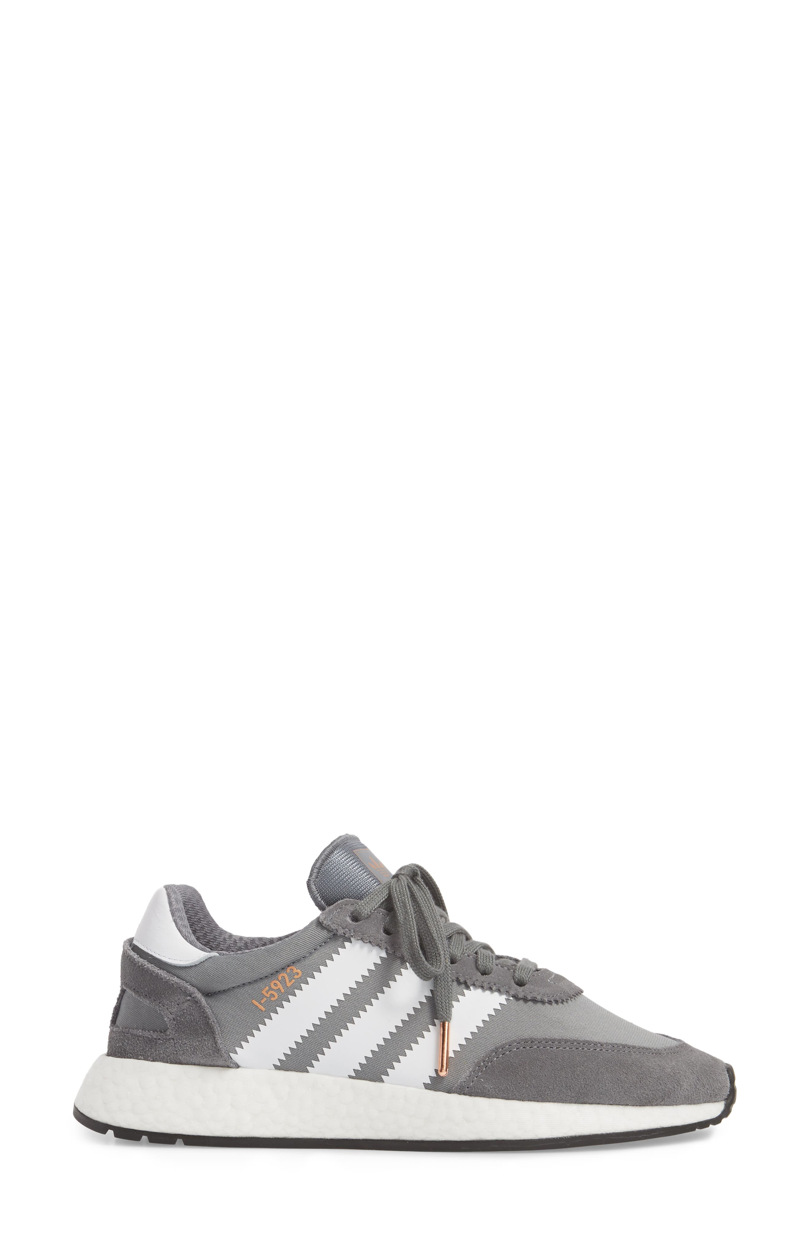 I-5923 Sneaker,                             Alternate thumbnail 3, color,                             Visible Grey/ White/ Black