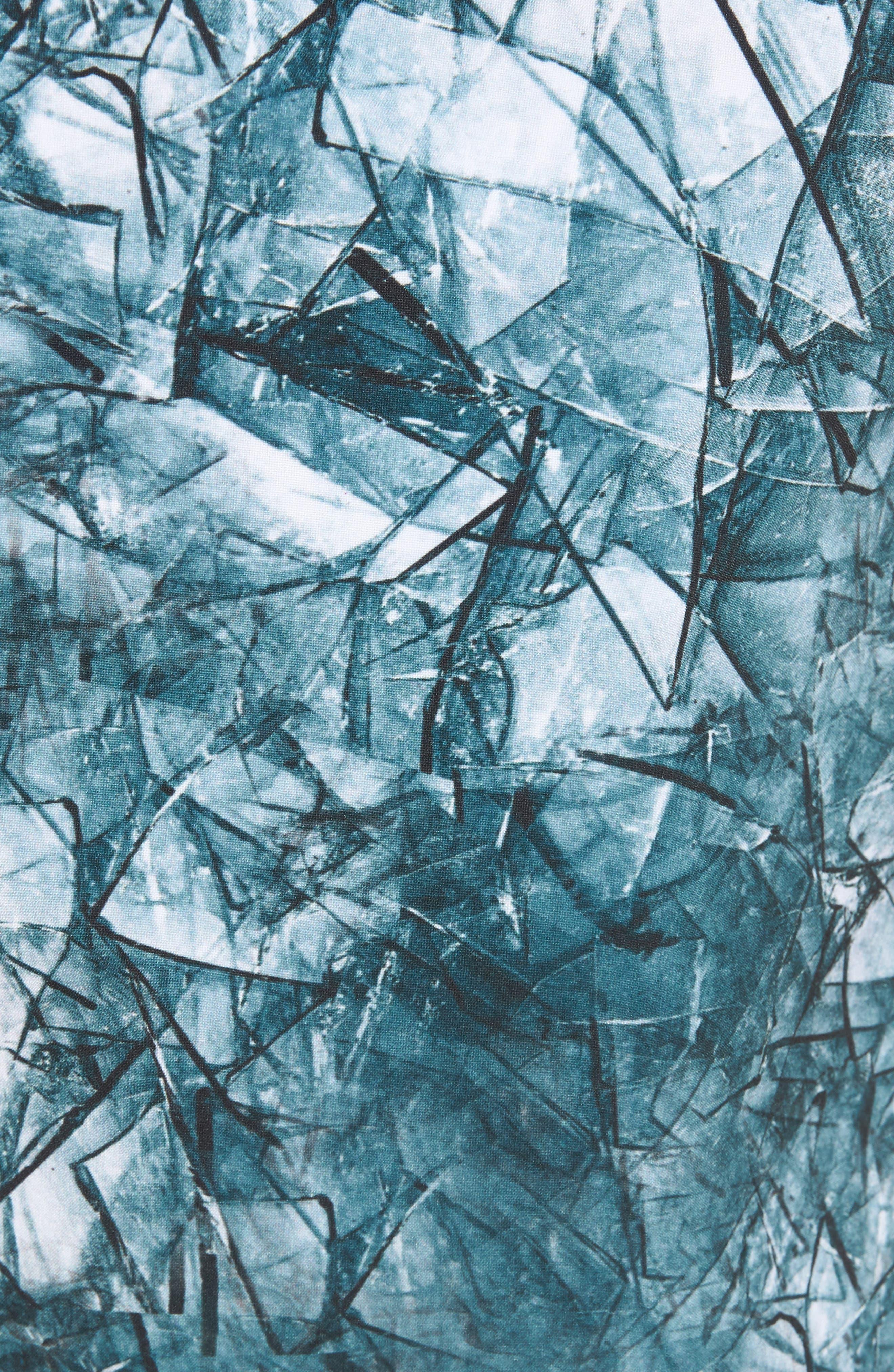 Desmond Swim Trunks,                             Alternate thumbnail 5, color,                             Shattered Blue