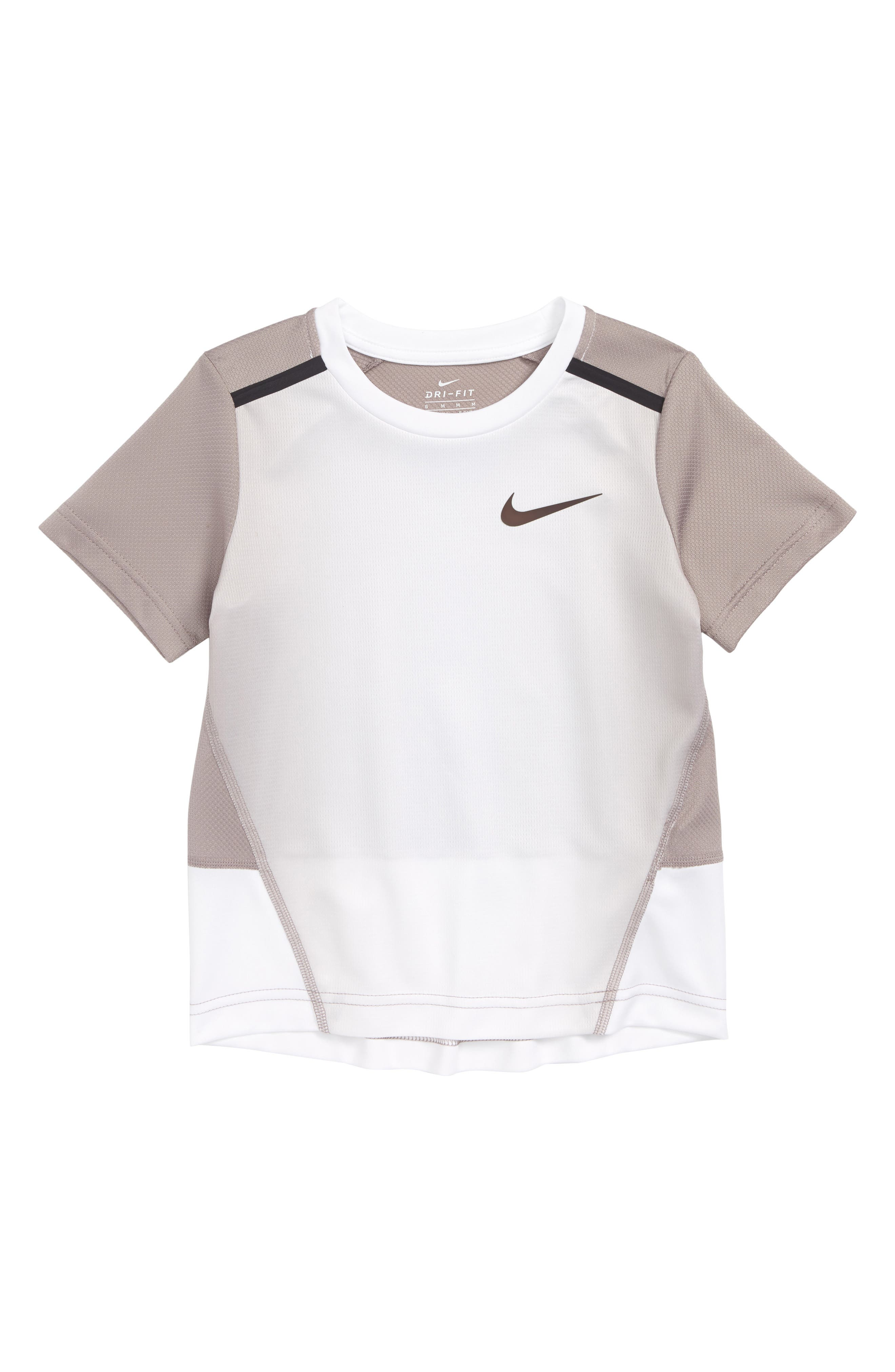 Dry INSTACOOL Shirt,                         Main,                         color, Atmosphere Gray