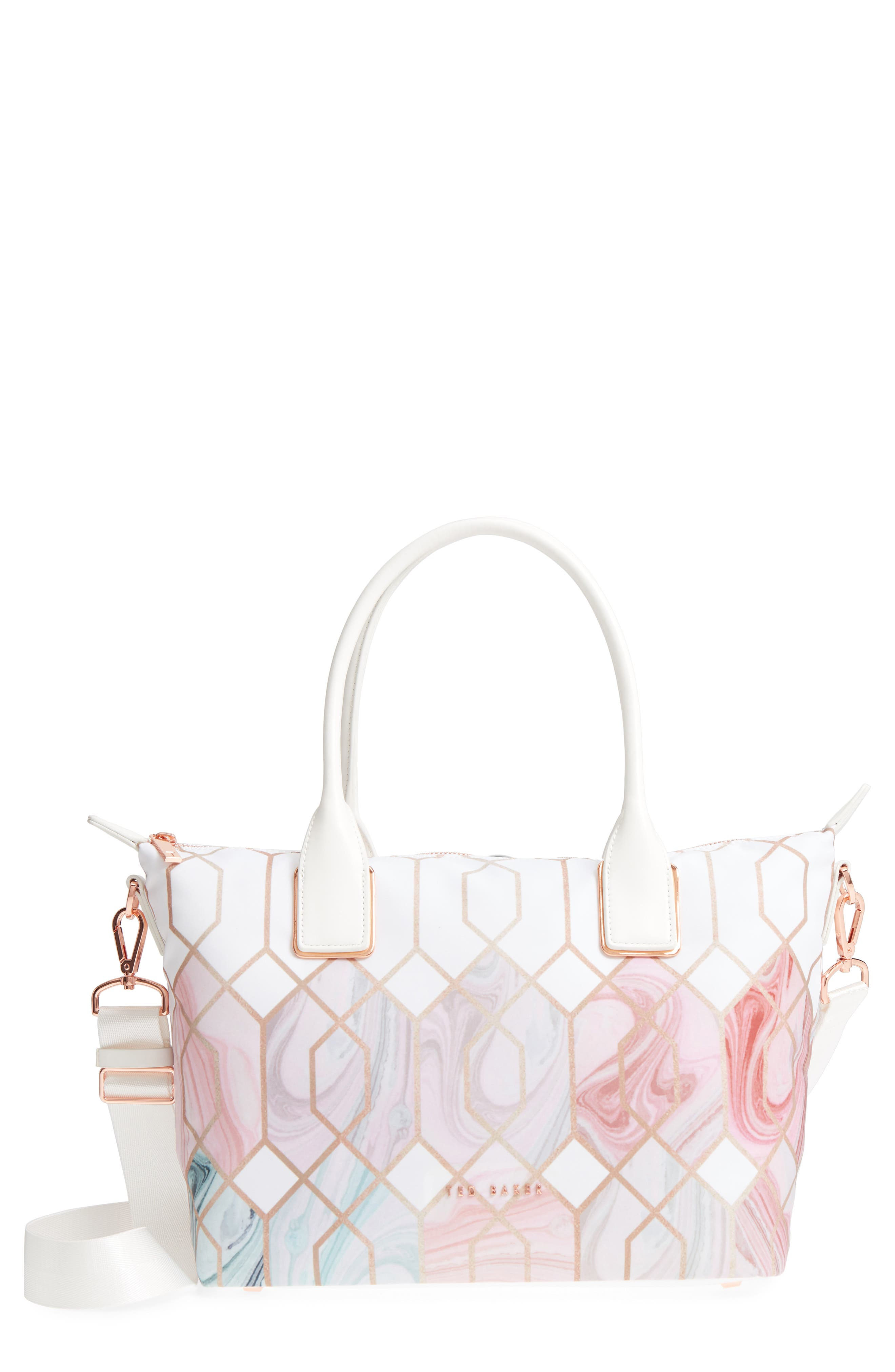 Ted Baker London Shelbee Sea of Clouds Small Nylon Tote
